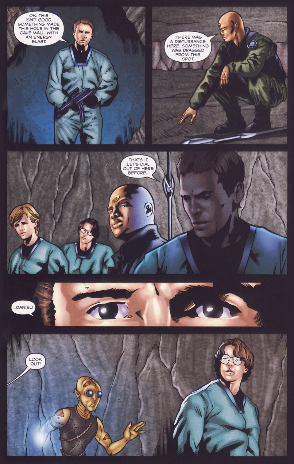 Read online Stargate SG-1: Fall of Rome comic -  Issue #1 - 16