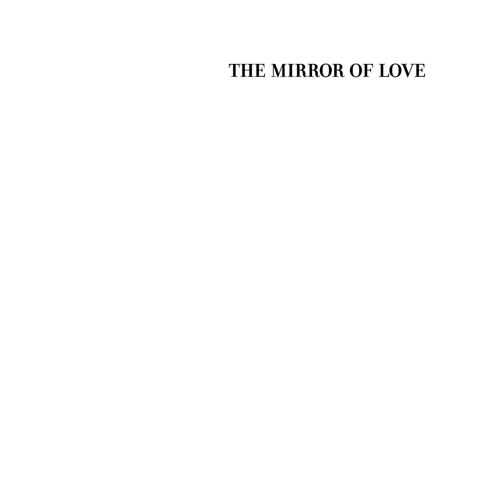Read online The Mirror of Love comic -  Issue # TPB - 20
