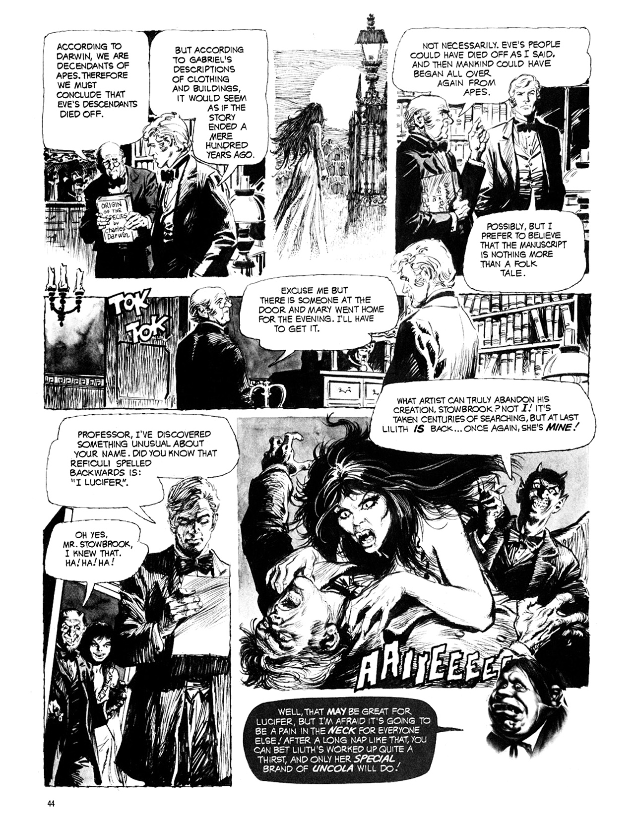 Read online Eerie Archives comic -  Issue # TPB 10 - 45