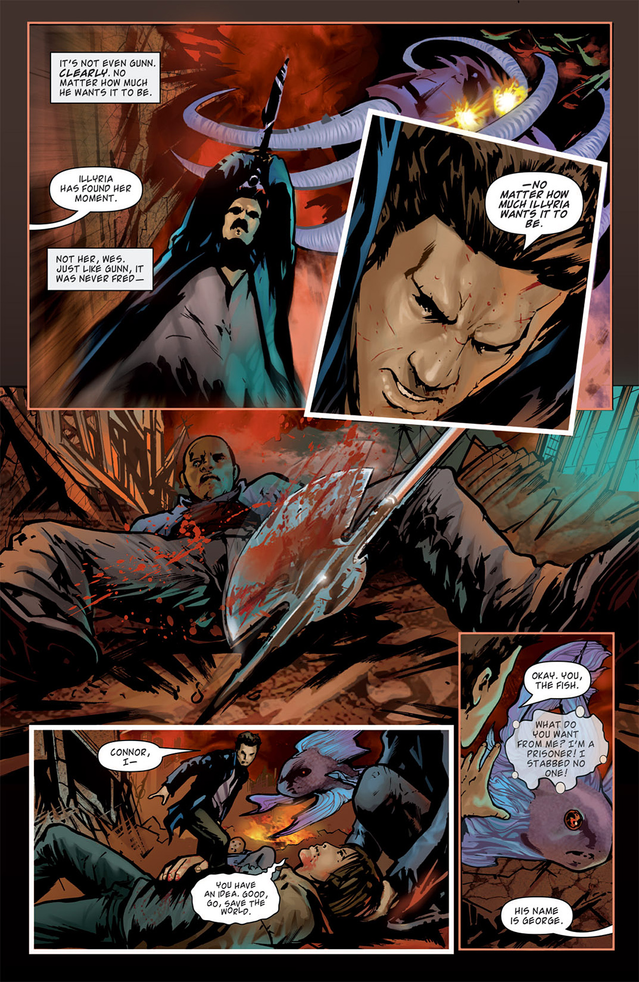 Read online Angel: After The Fall comic -  Issue #15 - 19