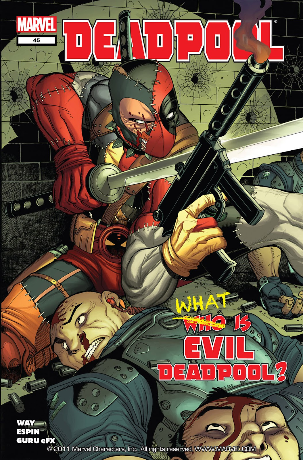 Read online Deadpool (2008) comic -  Issue #45 - 1