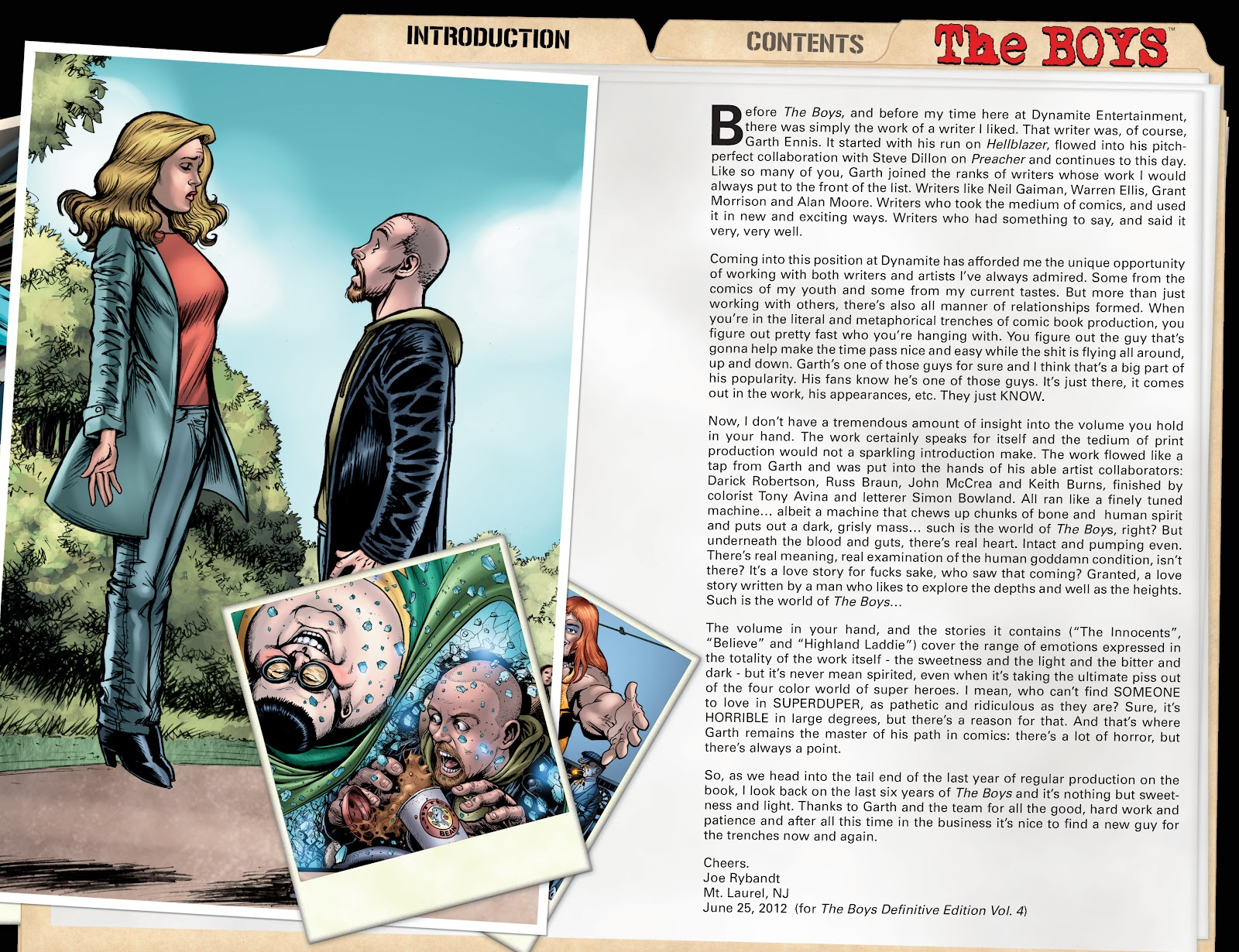 Read online The Boys Omnibus comic -  Issue # TPB 4 (Part 1) - 6