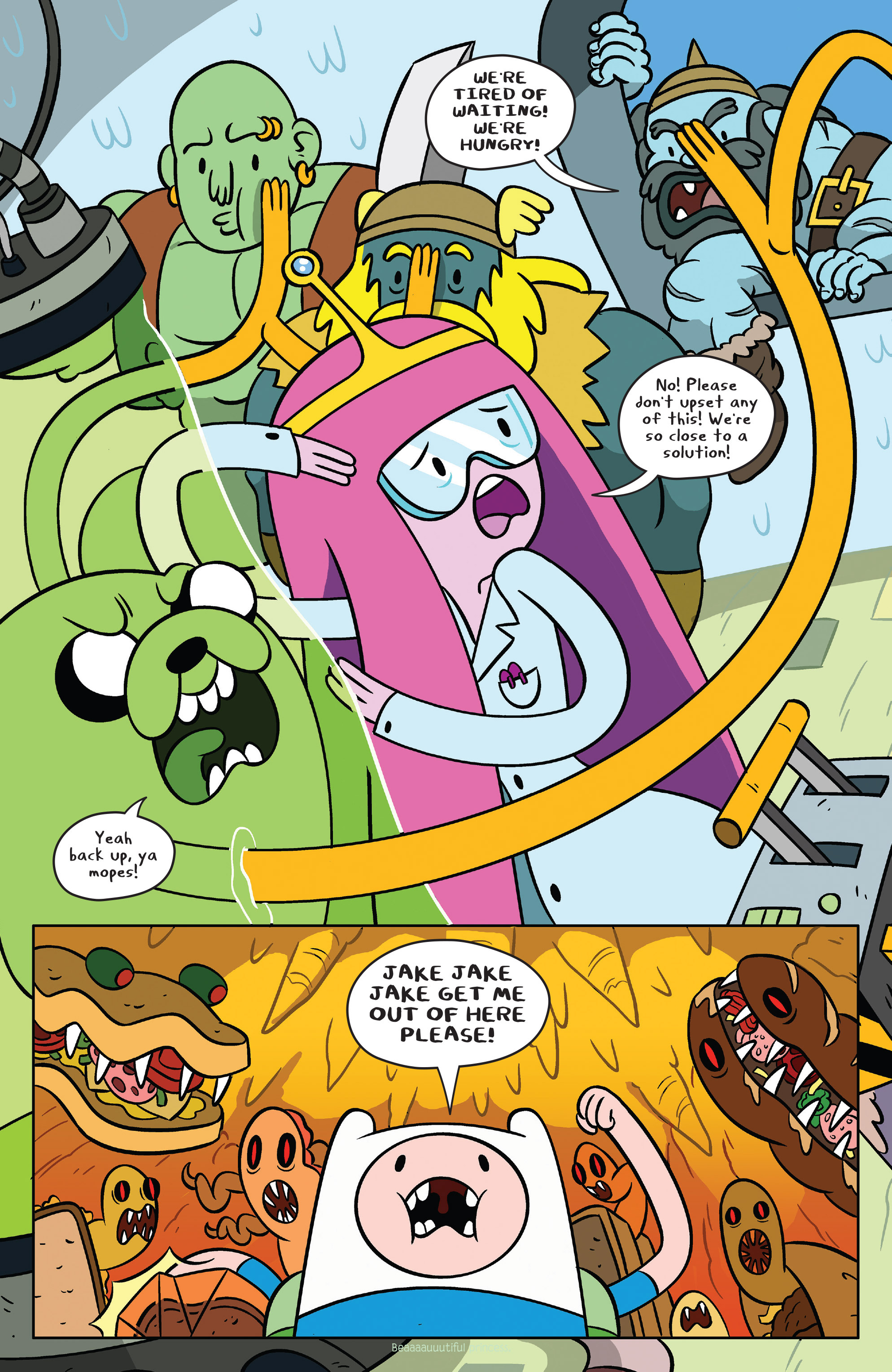 Read online Adventure Time comic -  Issue #38 - 14