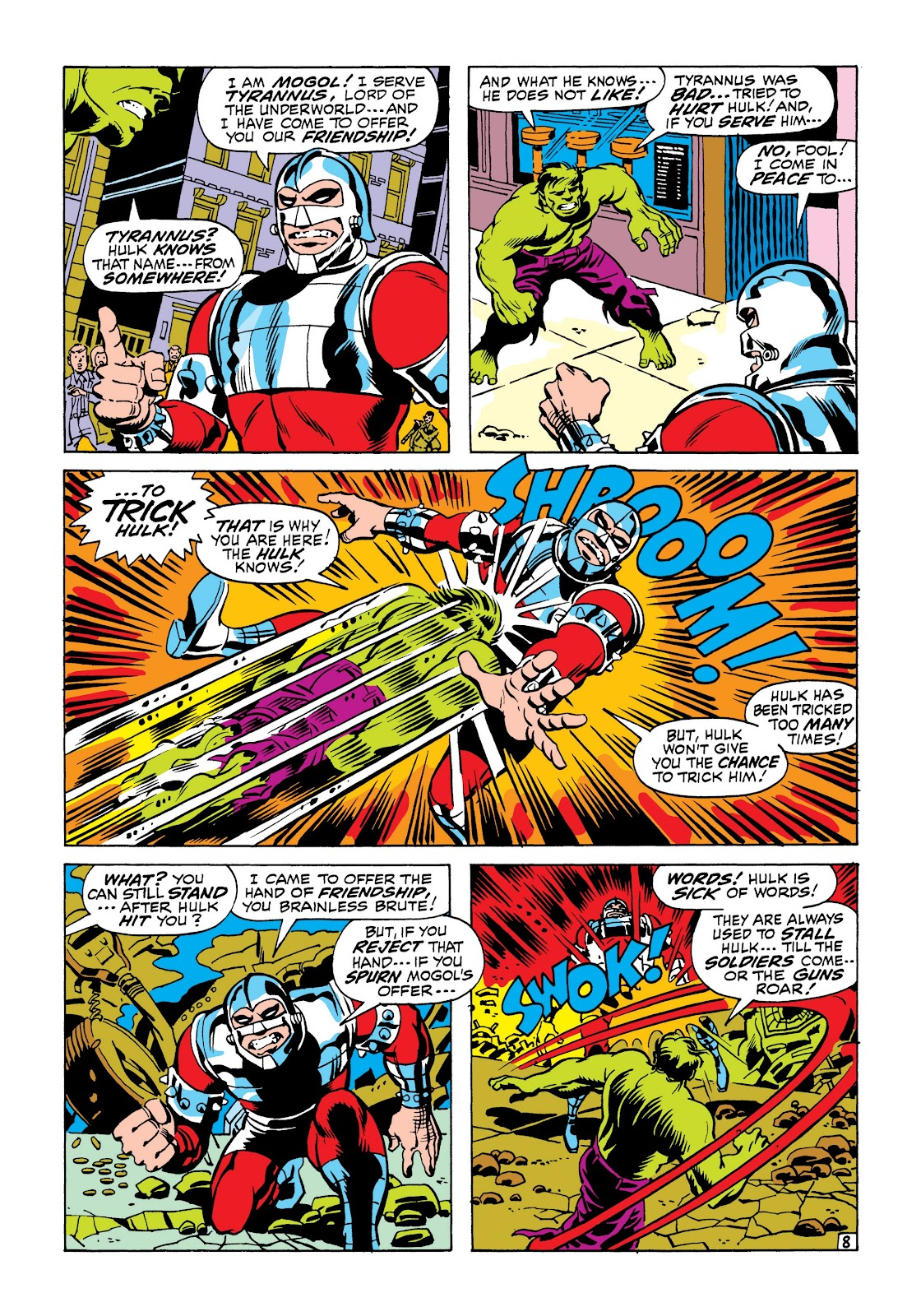 Read online Marvel Masterworks: The Incredible Hulk comic -  Issue # TPB 6 (Part 2) - 22