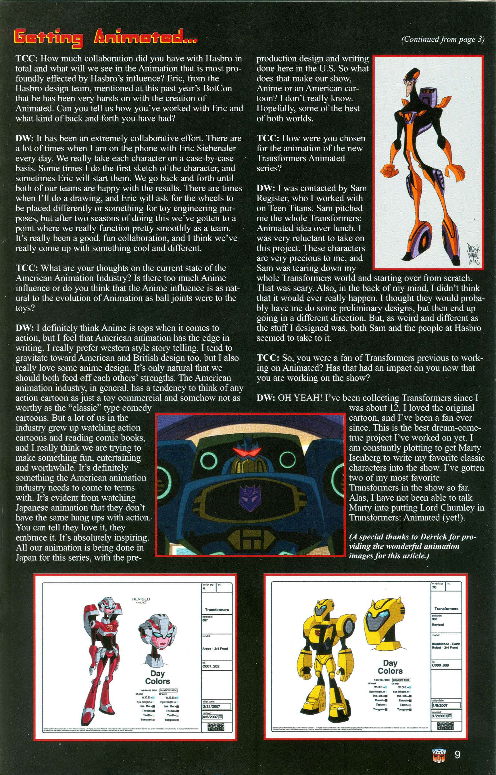 Read online Transformers: Collectors' Club comic -  Issue #19 - 9