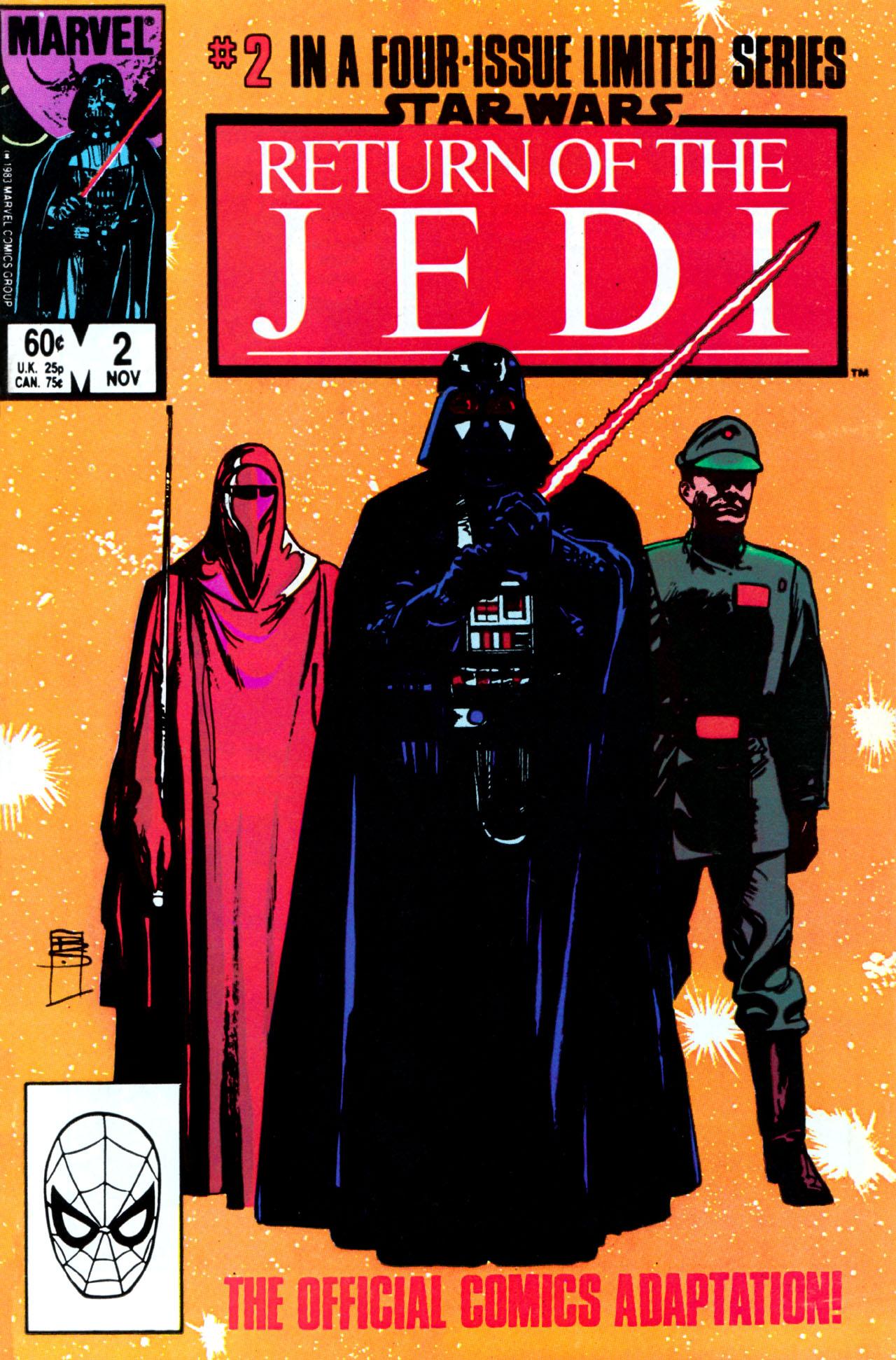 Read online Star Wars: Return of the Jedi comic -  Issue #2 - 1
