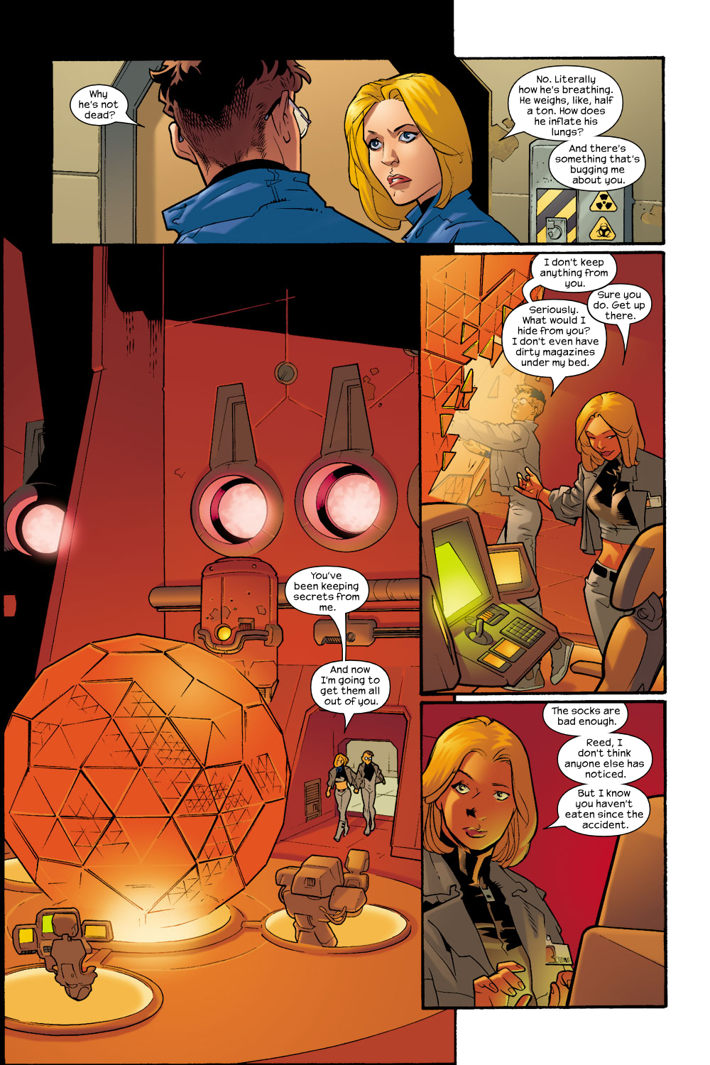 Read online Ultimate Fantastic Four (2004) comic -  Issue #7 - 15