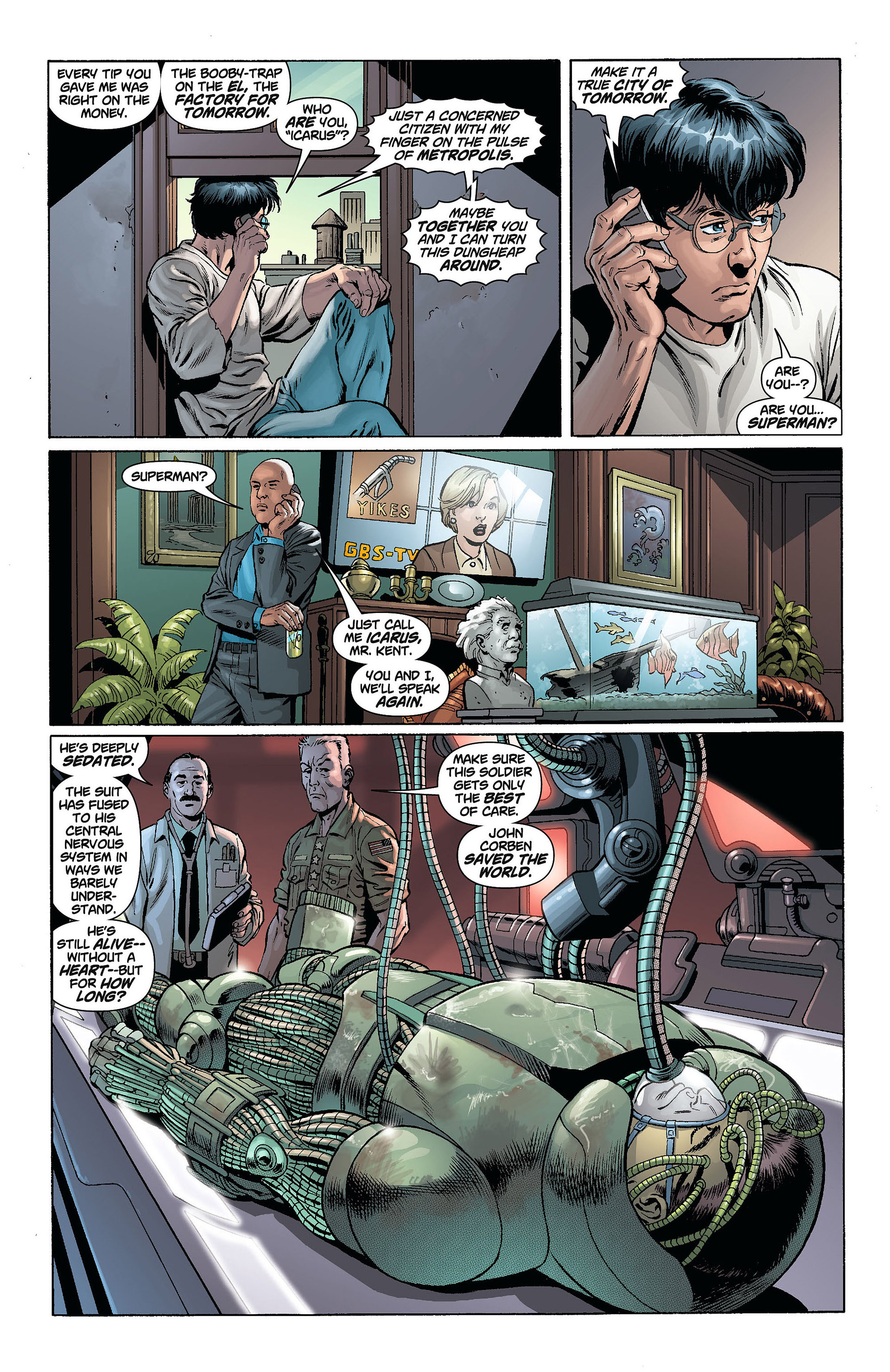 Read online Action Comics (2011) comic -  Issue #8 - 23