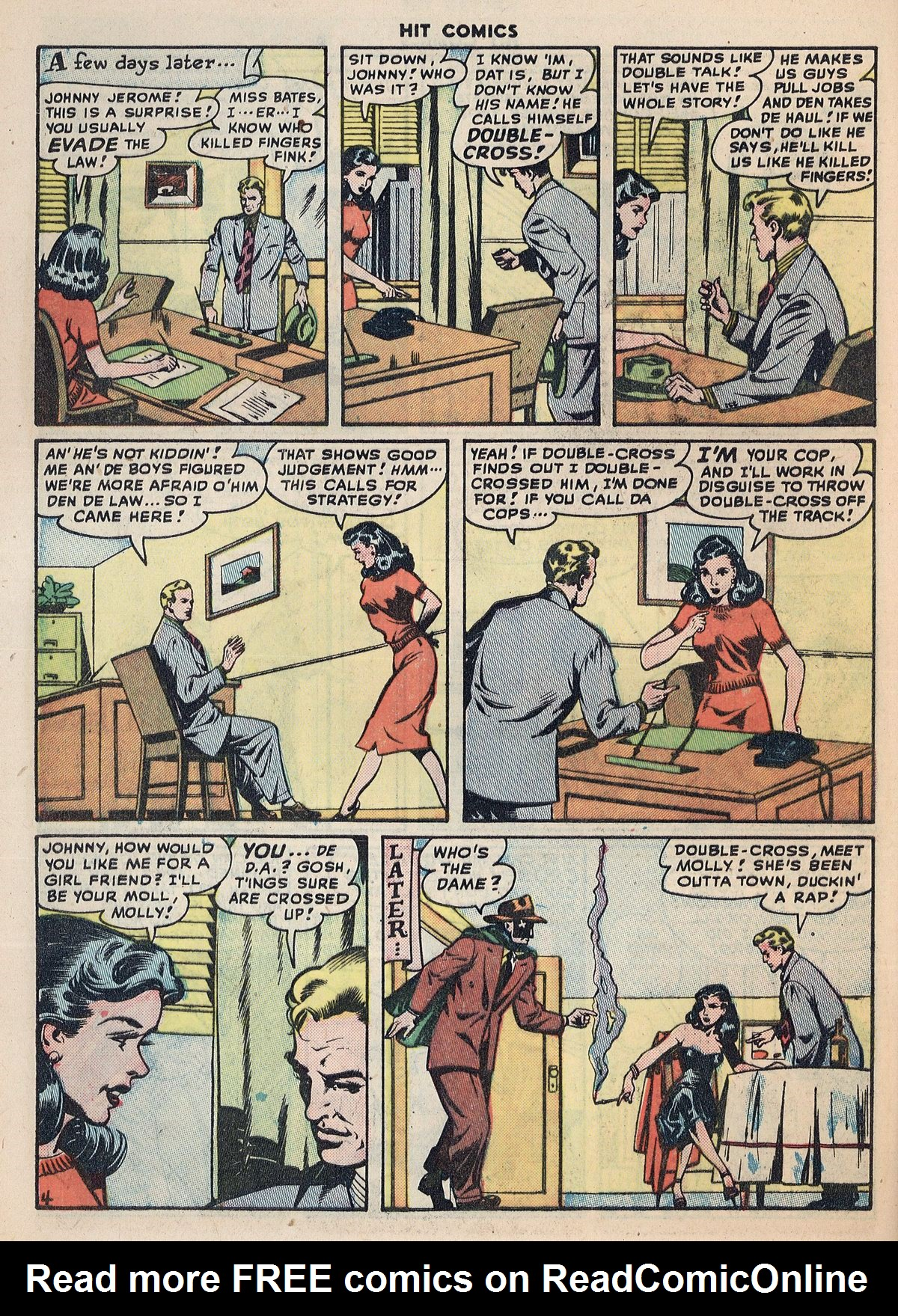 Read online Hit Comics comic -  Issue #55 - 42