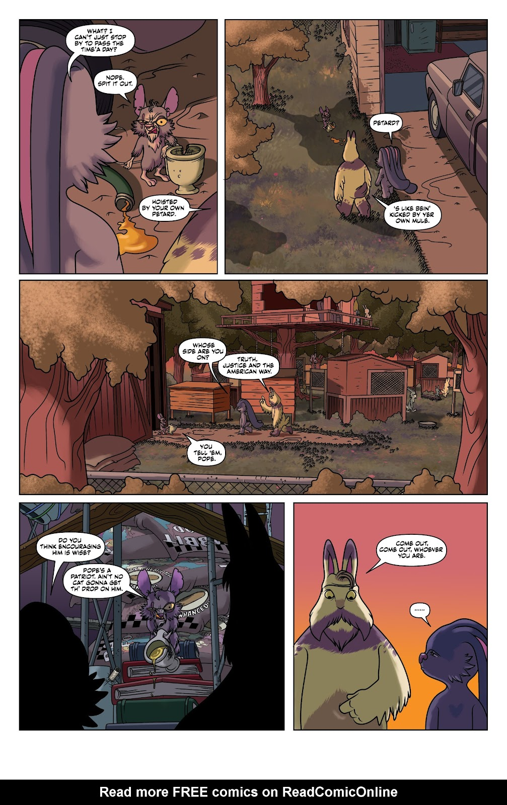 Read online Auntie Agatha's Home For Wayward Rabbits comic -  Issue #4 - 7