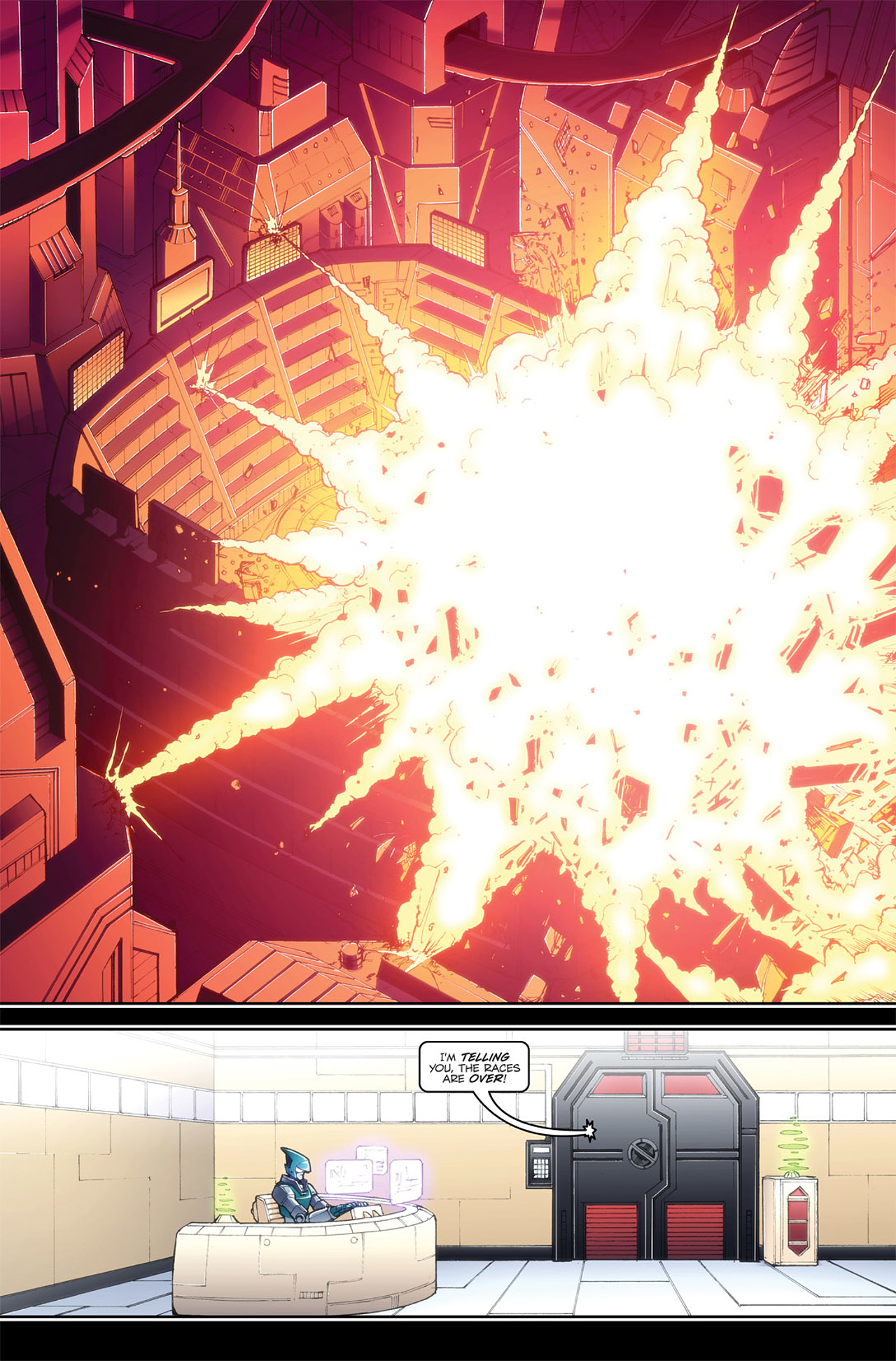 Read online Transformers Spotlight: Blurr comic -  Issue # Full - 11