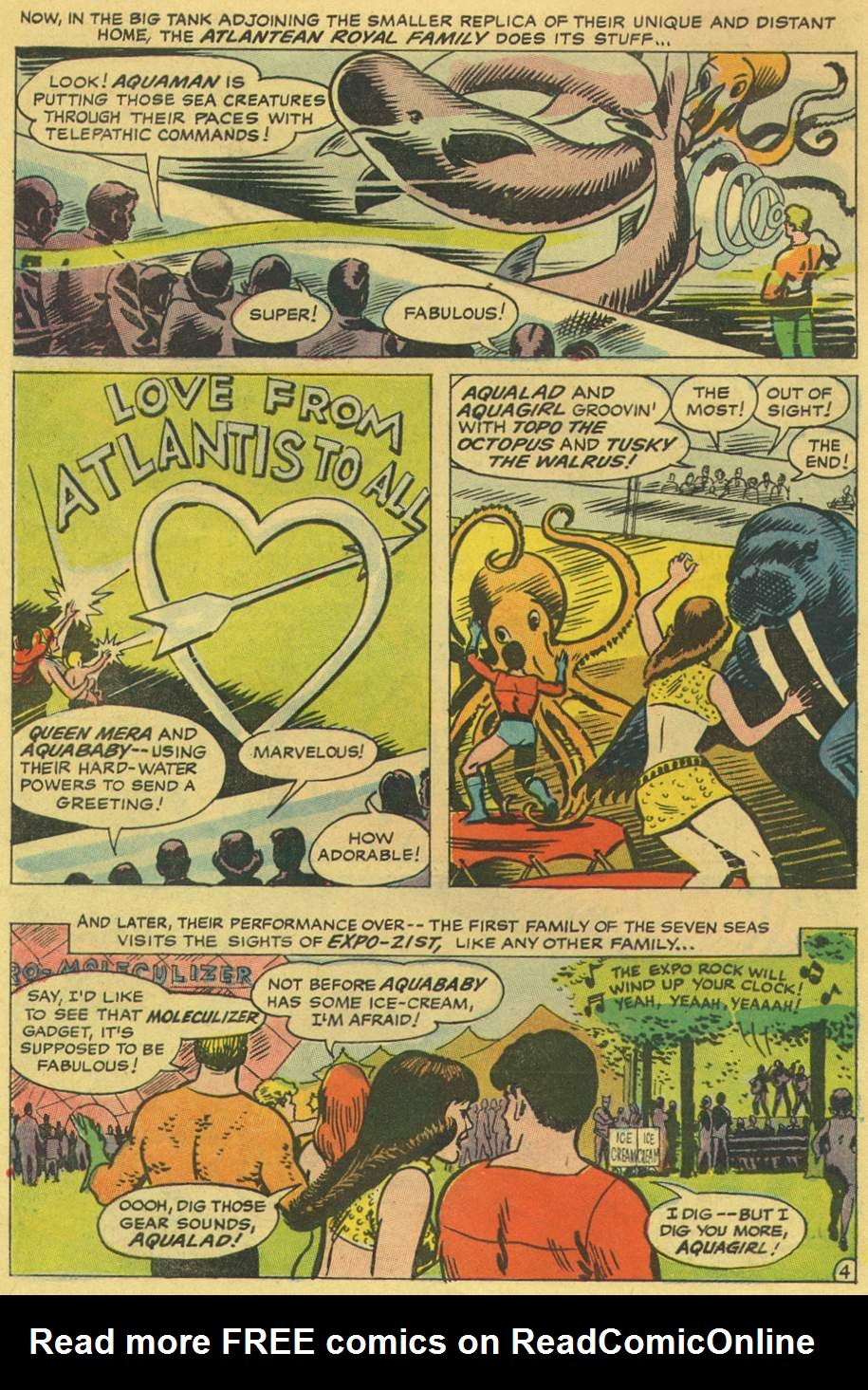 Read online Aquaman (1962) comic -  Issue #36 - 6
