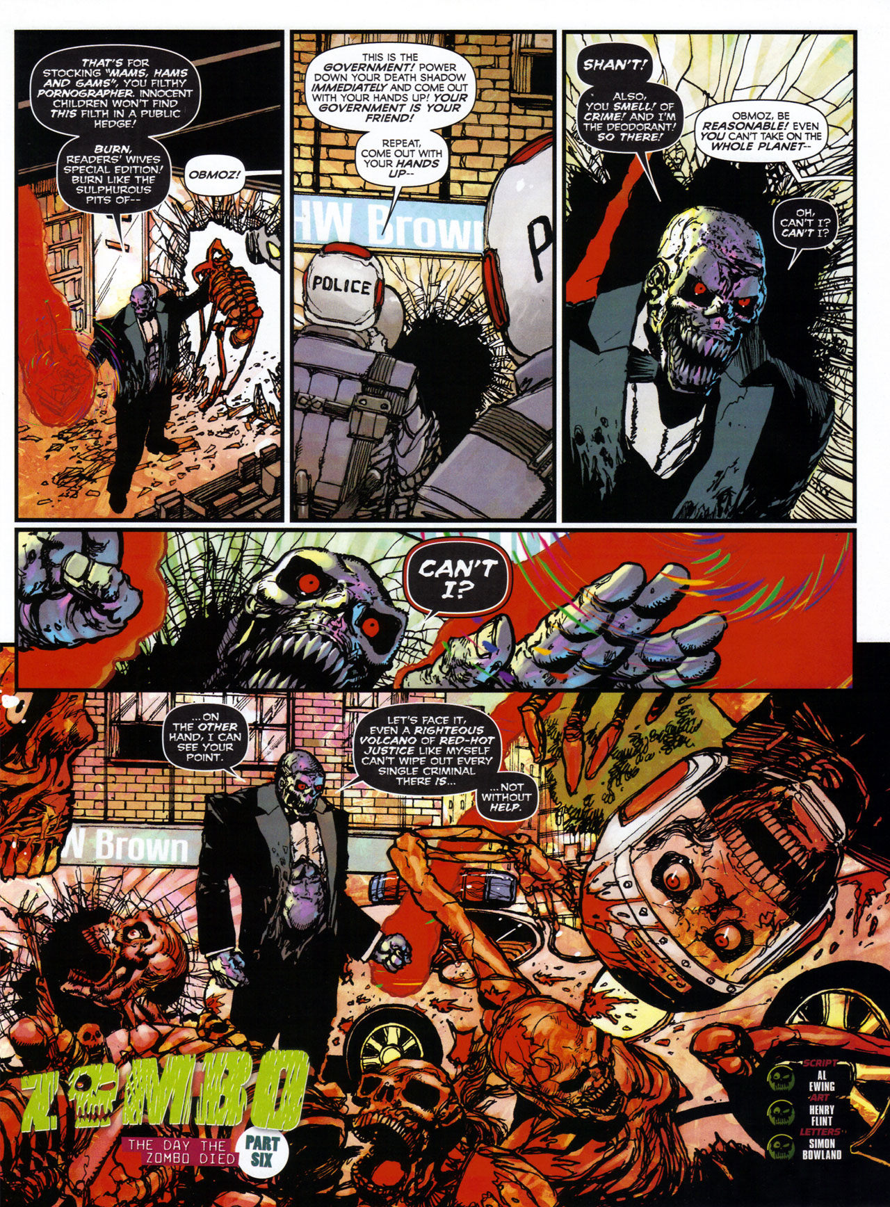 Read online 2000 AD comic -  Issue #1746 - 116