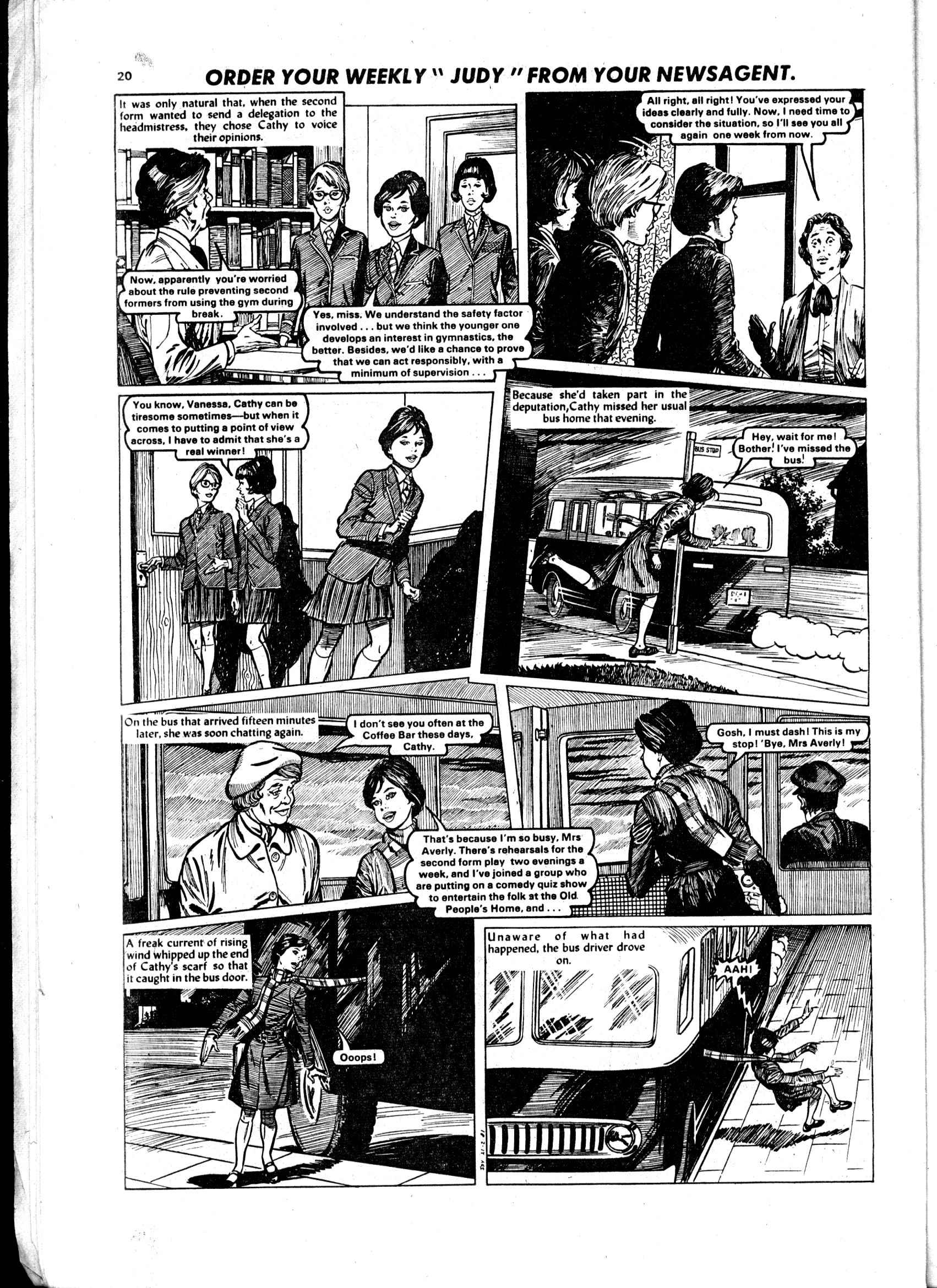 Read online Judy comic -  Issue #1102 - 20