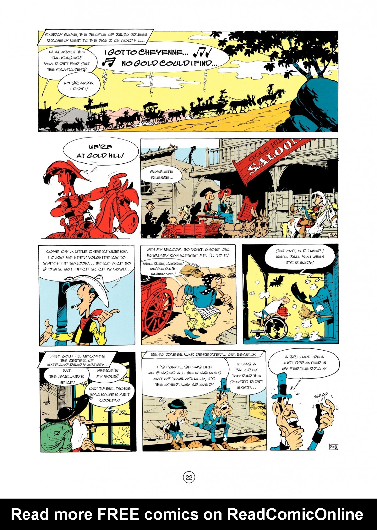 Read online A Lucky Luke Adventure comic -  Issue #2 - 24