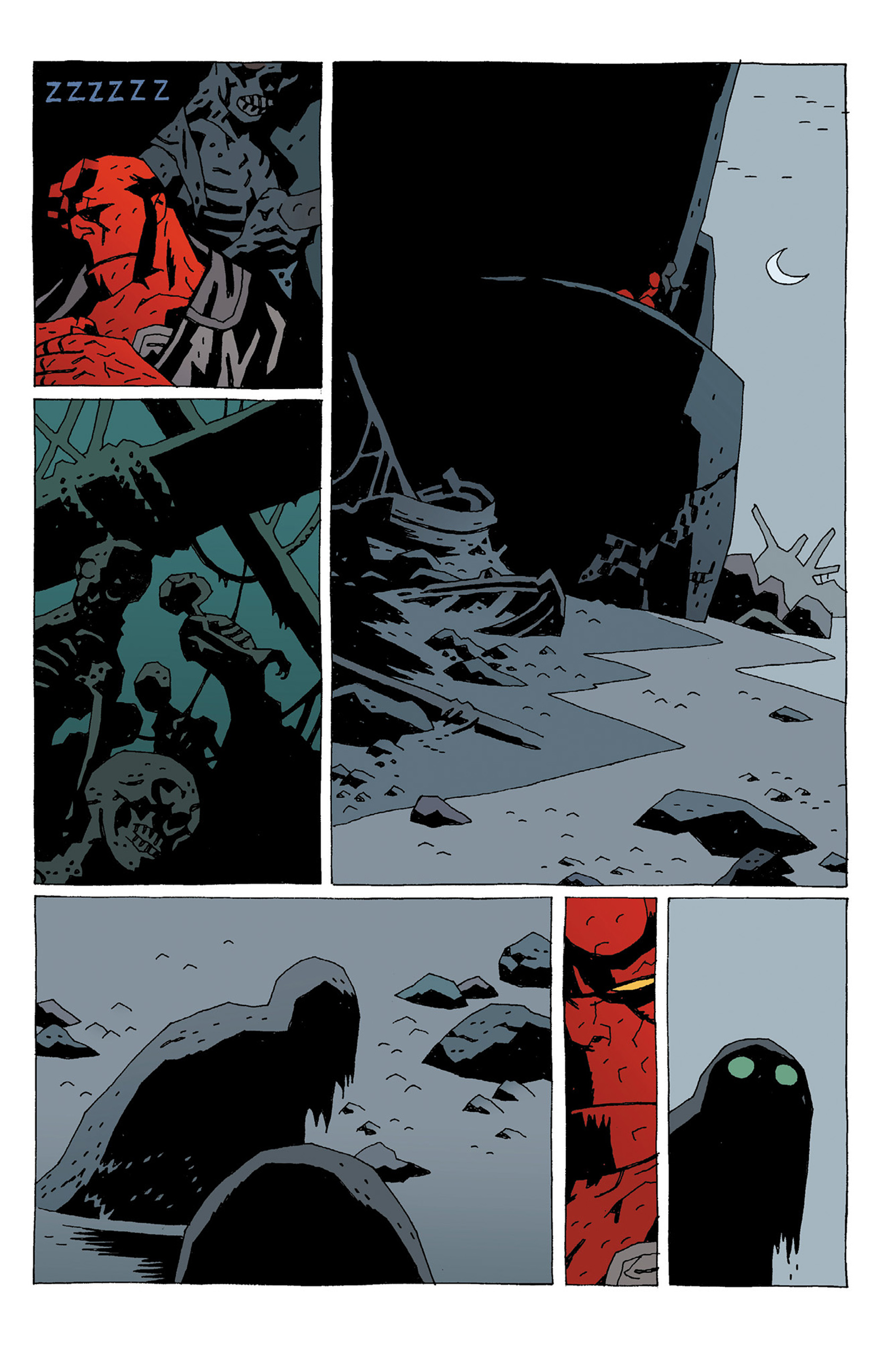 Read online Hellboy: Strange Places comic -  Issue # TPB - 139
