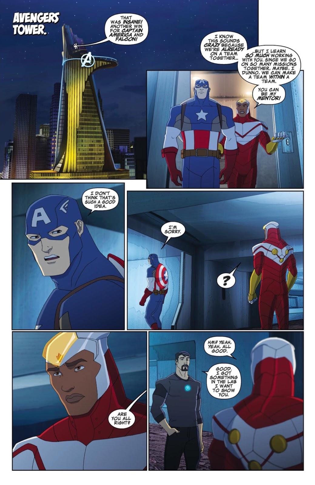 Read online Marvel Universe Avengers Assemble Season 2 comic -  Issue #4 - 3