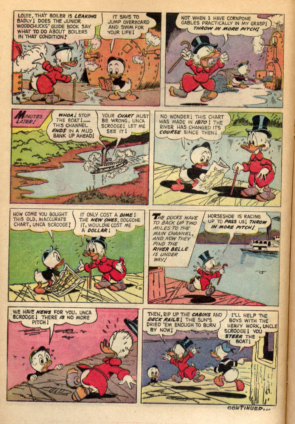 Read online Uncle Scrooge (1953) comic -  Issue #72 - 16