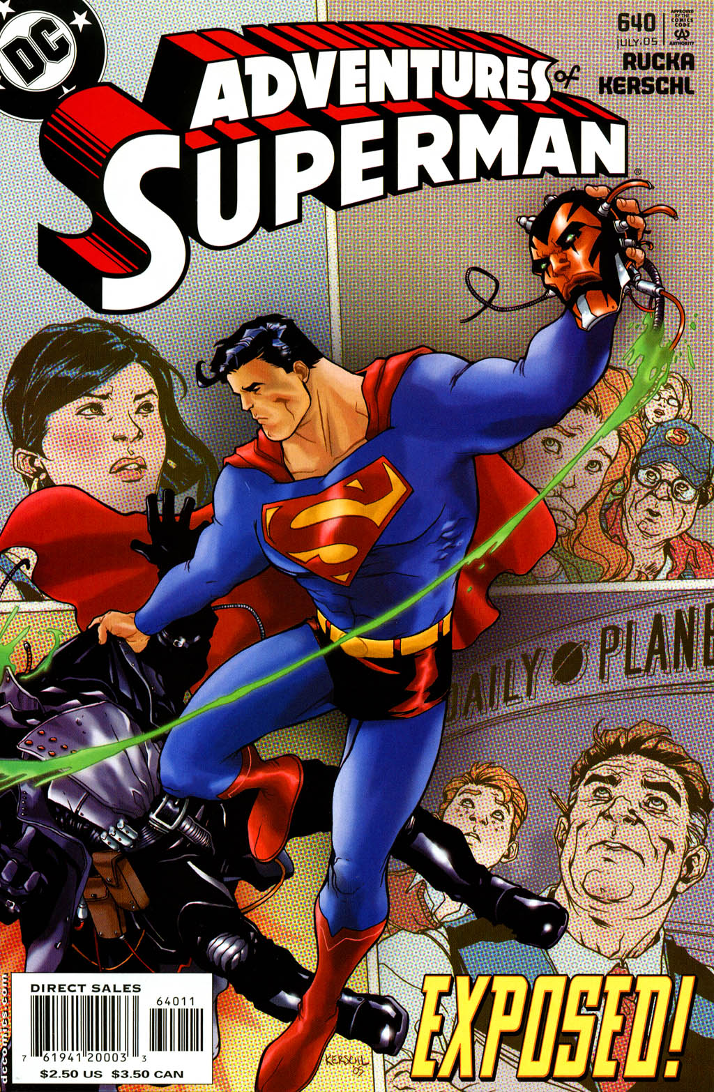 Read online Adventures of Superman (1987) comic -  Issue #640 - 1