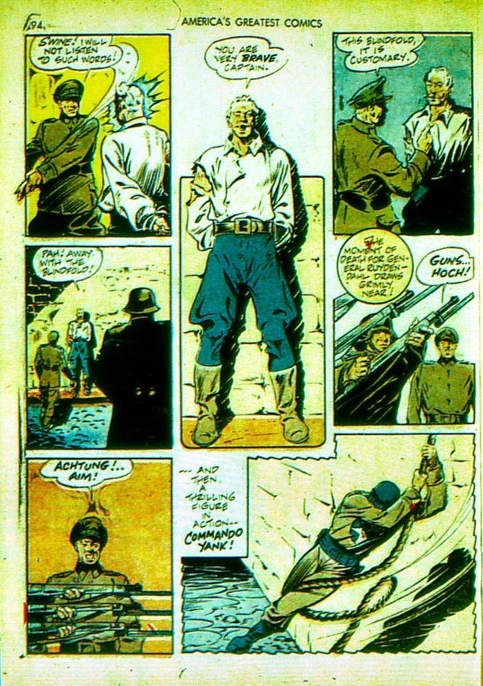 Read online America's Greatest Comics comic -  Issue #4 - 95