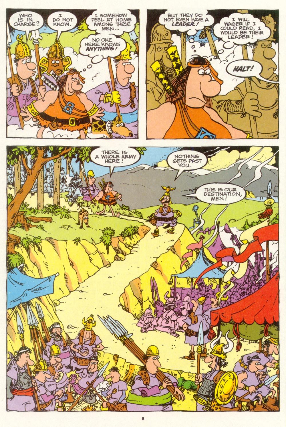 Read online Sergio Aragonés Groo the Wanderer comic -  Issue #100 - 9