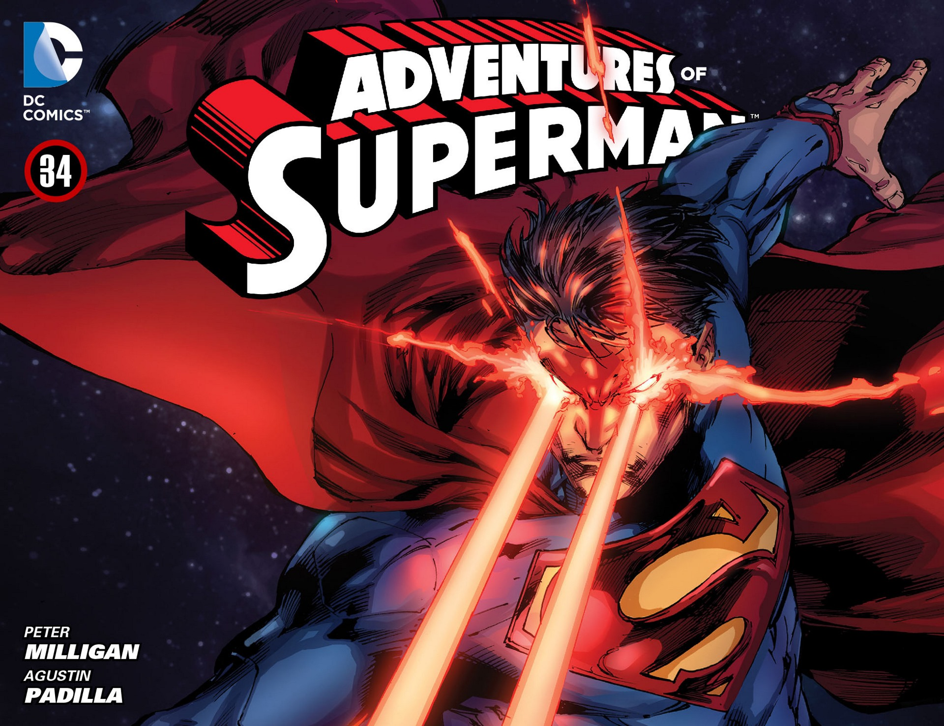 Read online Adventures of Superman [I] comic -  Issue #34 - 1