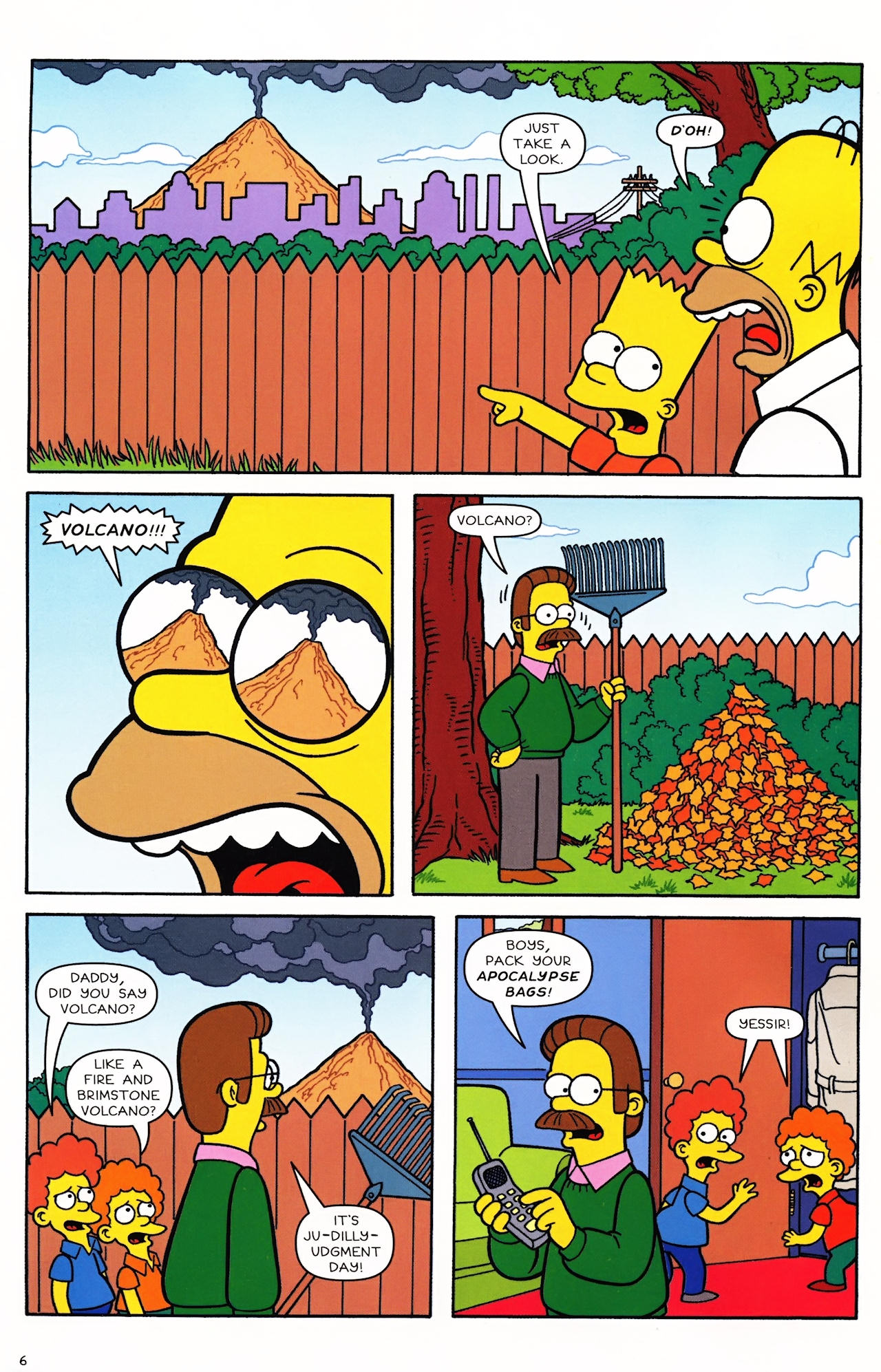 Read online Simpsons Comics comic -  Issue #152 - 7
