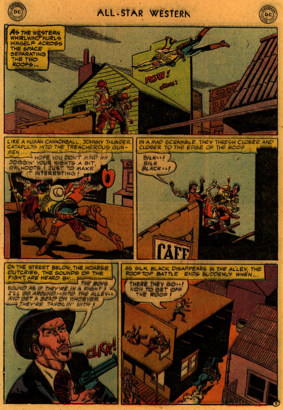 Read online All-Star Western (1951) comic -  Issue #89 - 33