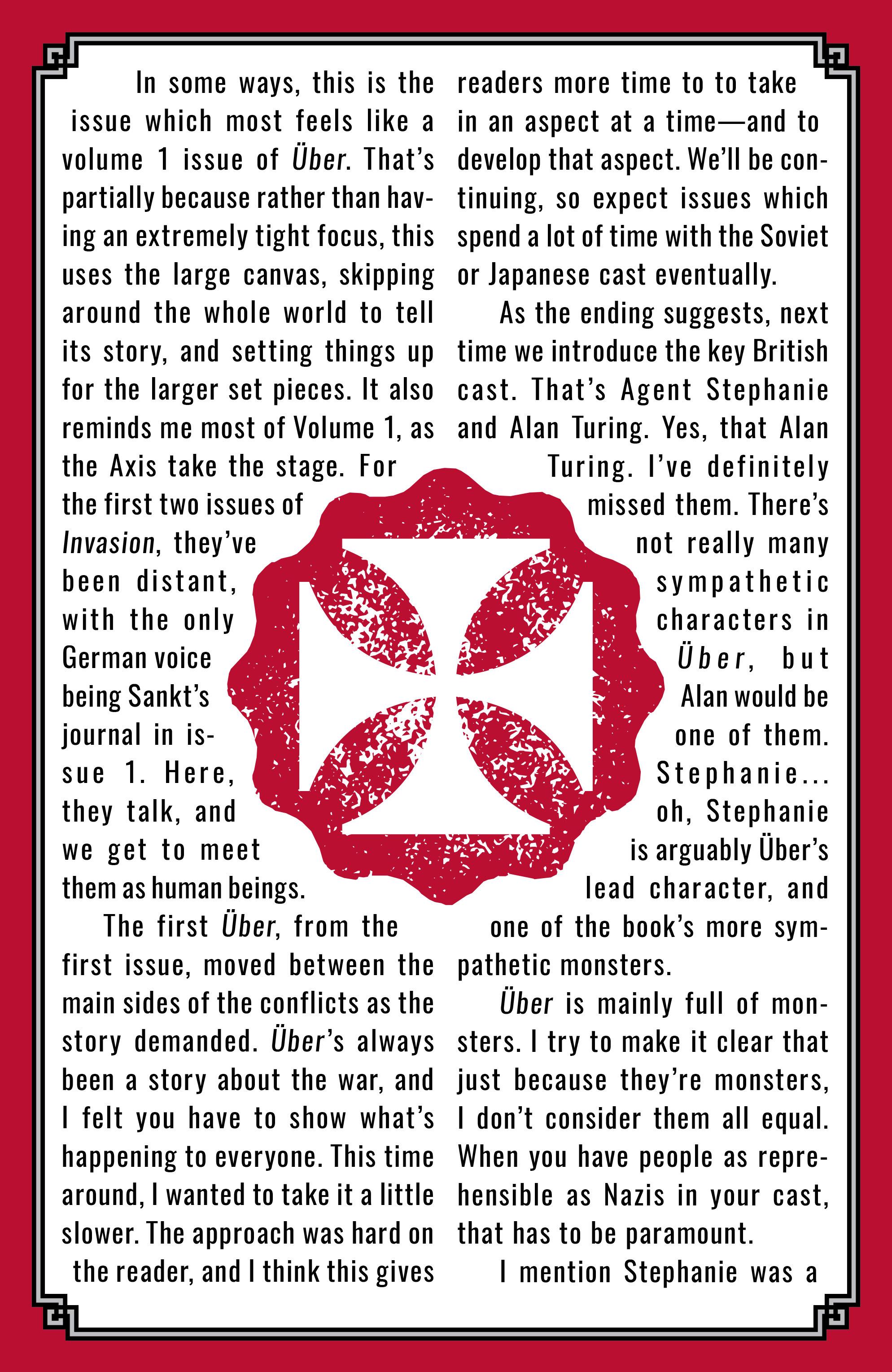 Read online Uber: Invasion comic -  Issue #3 - 26