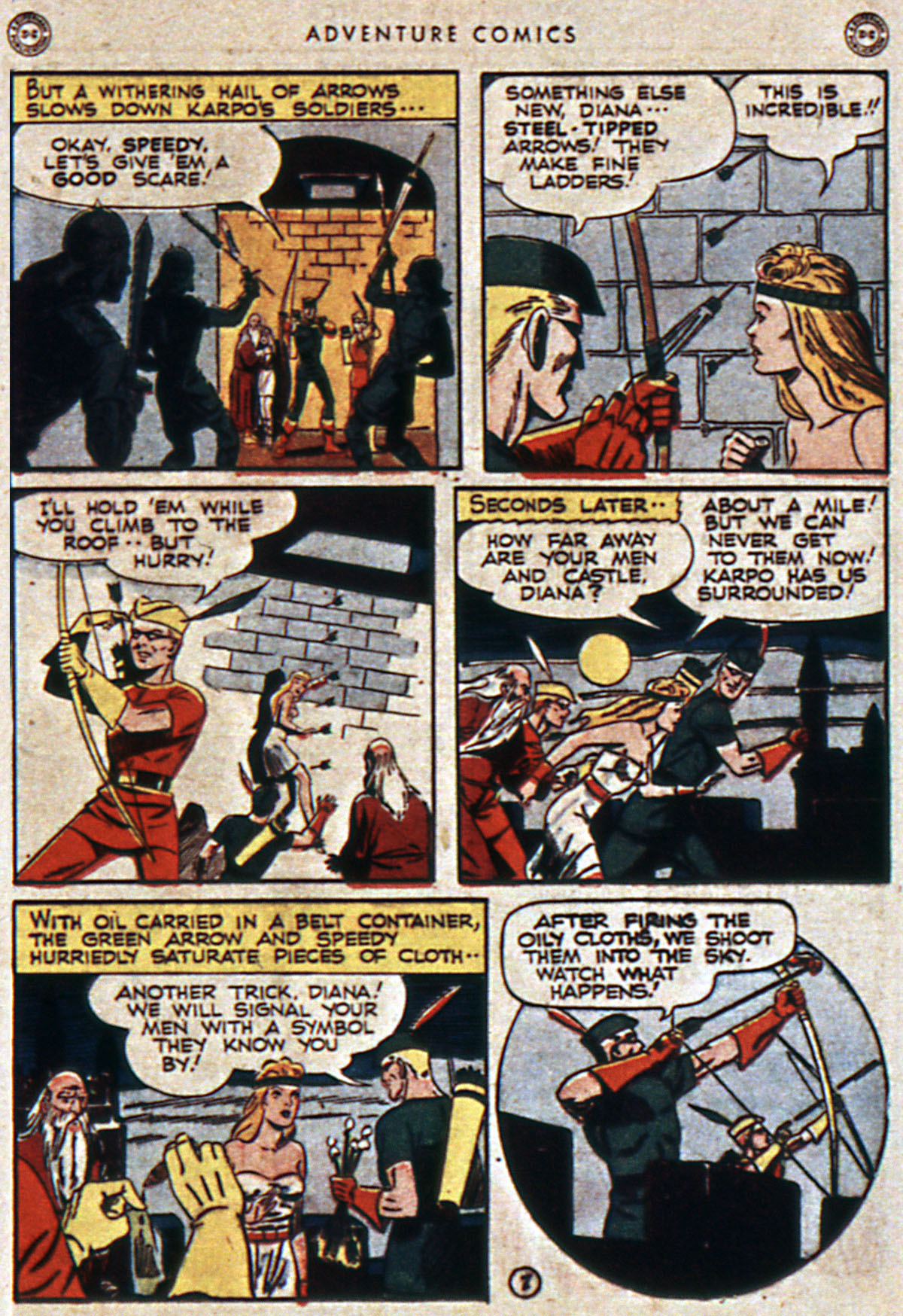 Read online Adventure Comics (1938) comic -  Issue #111 - 17