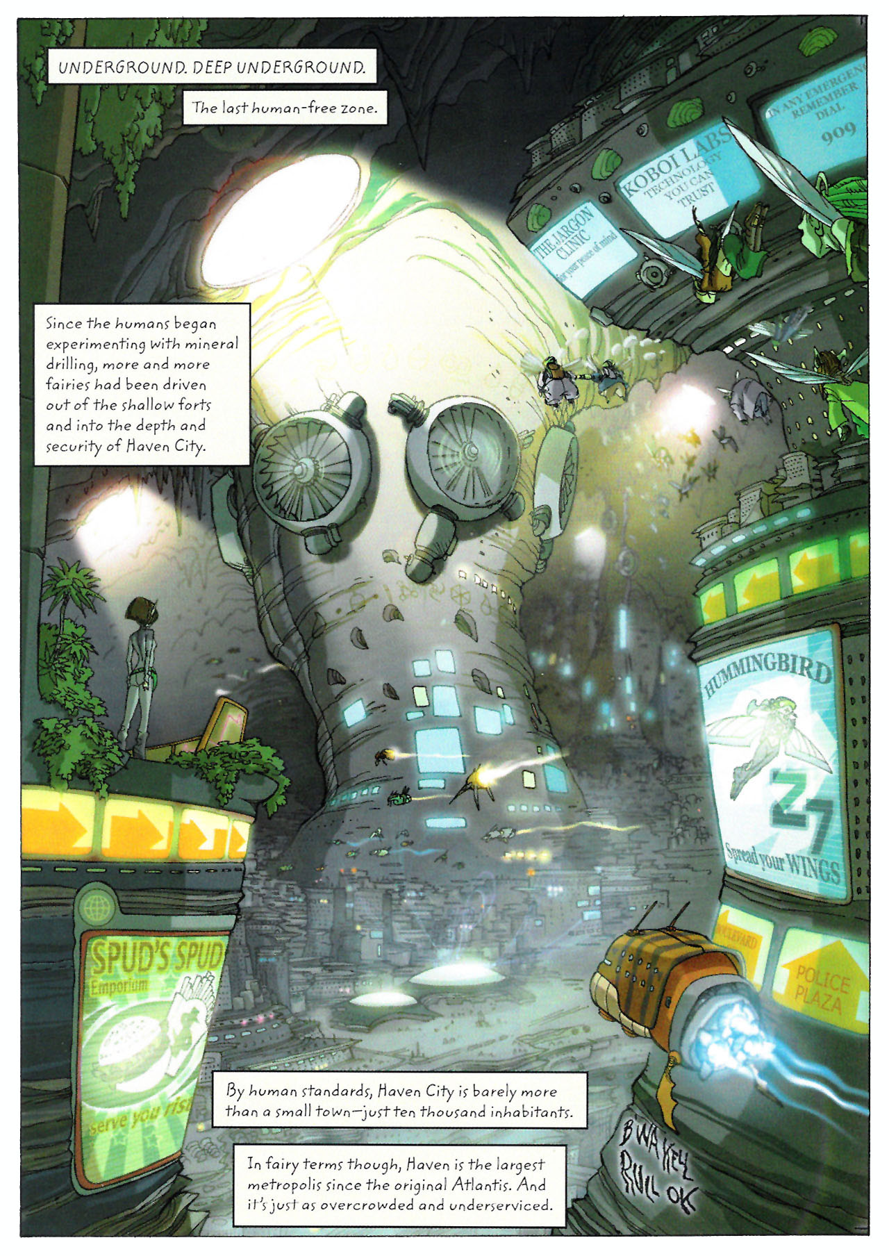 Read online Artemis Fowl: The Graphic Novel comic -  Issue #Artemis Fowl: The Graphic Novel Full - 21
