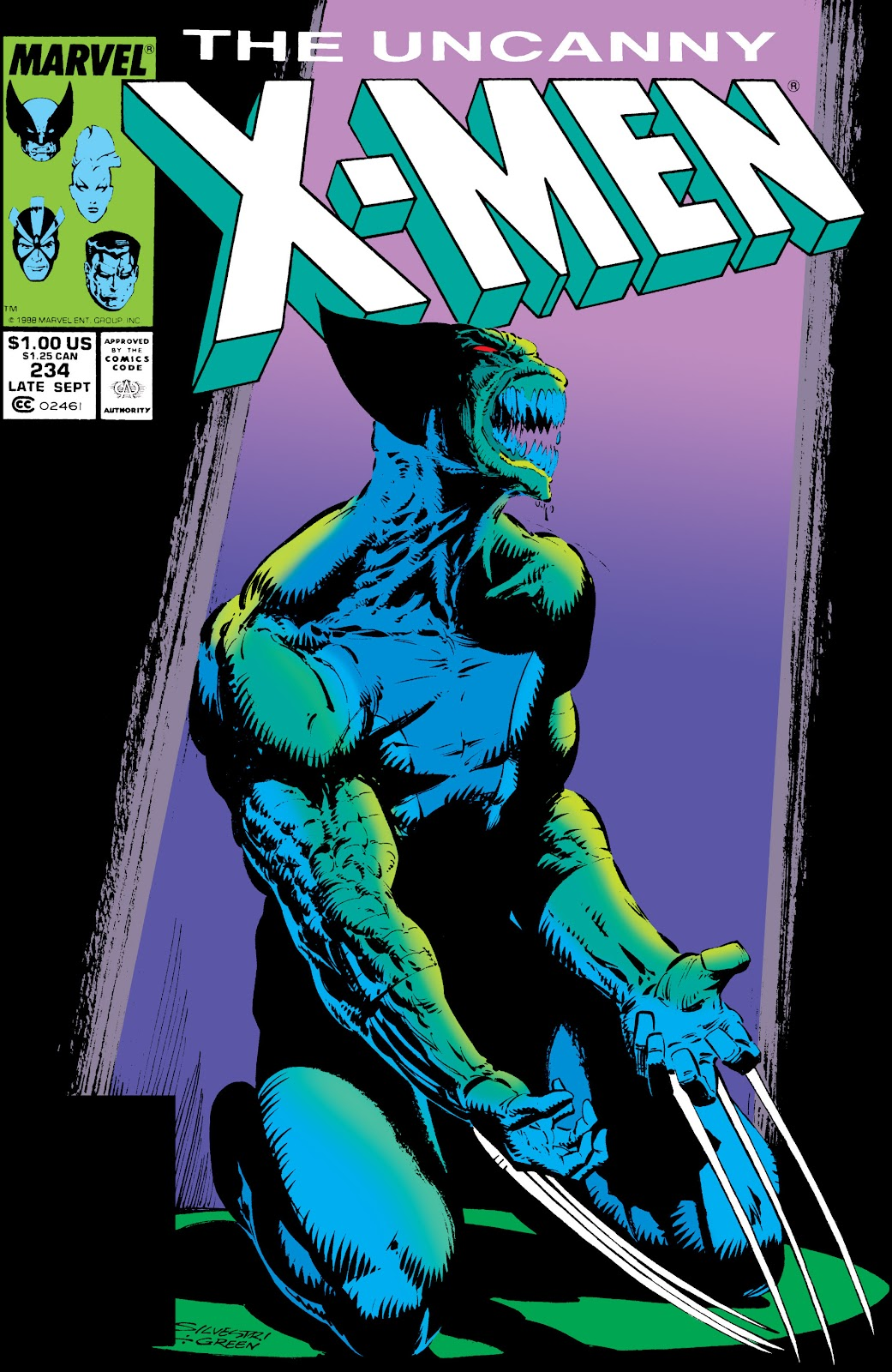 Uncanny X-Men (1963) issue 234 - Page 1