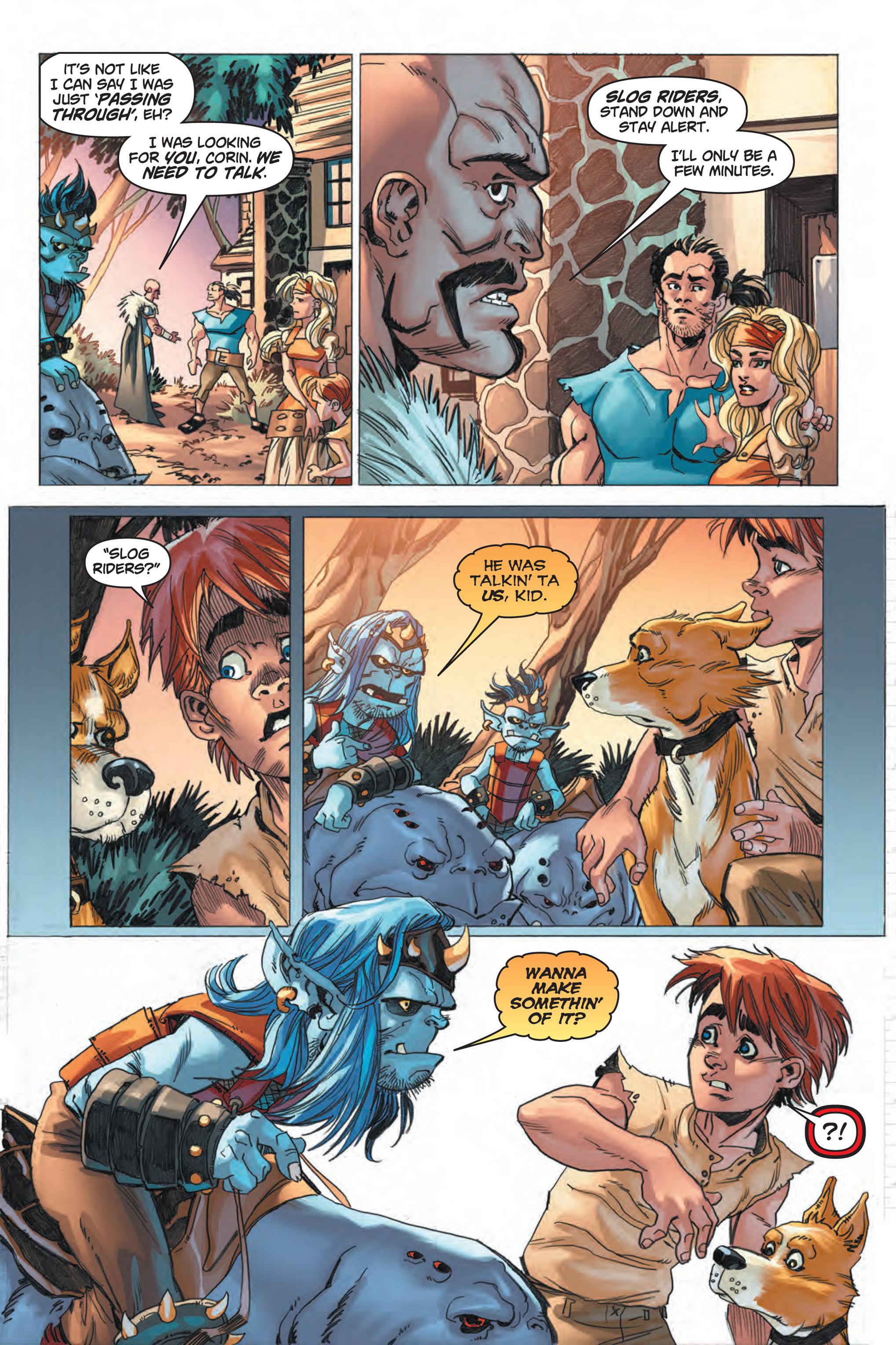 Read online Skyward comic -  Issue #1 - 15