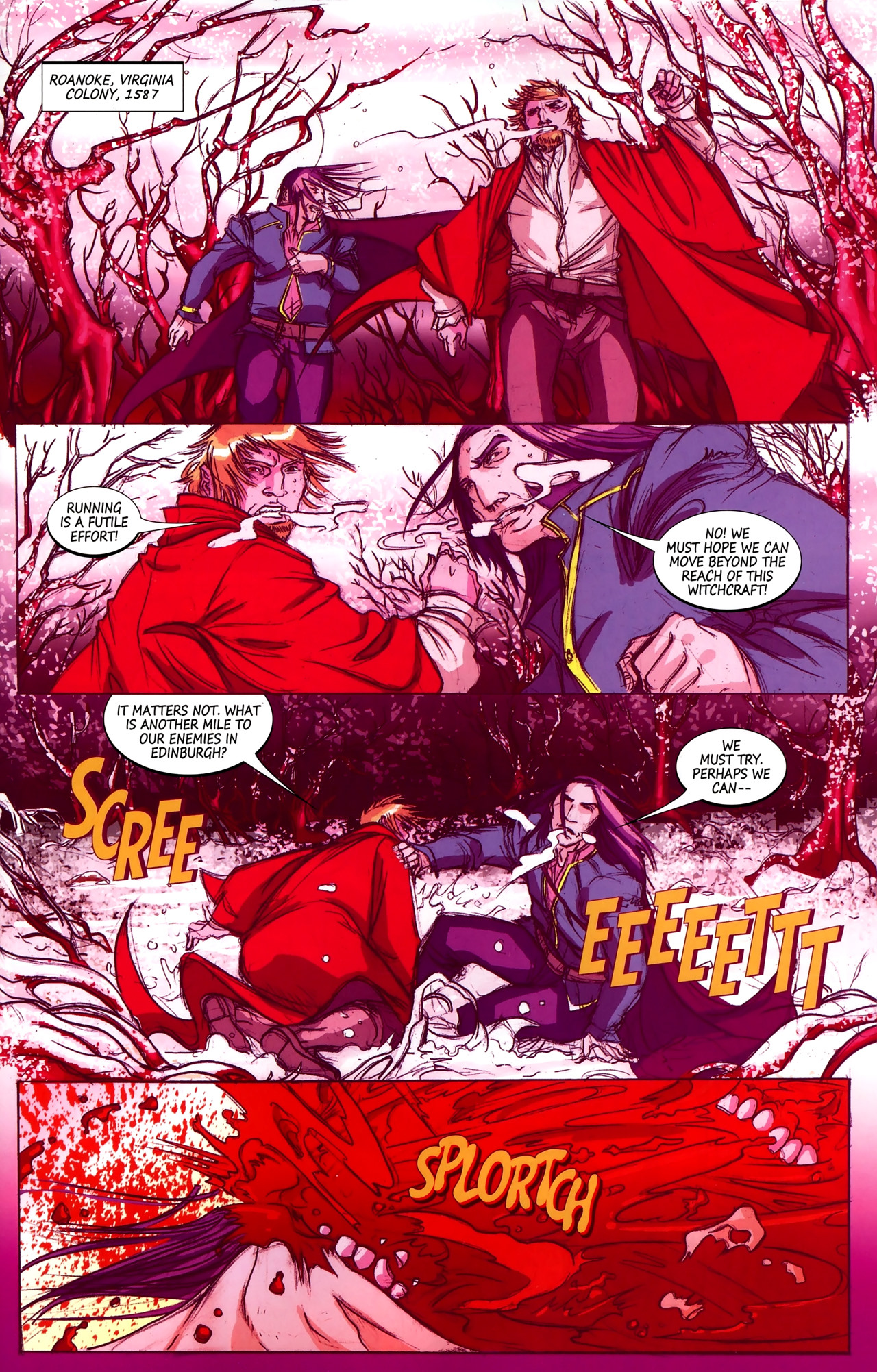 Read online Hexed comic -  Issue #2 - 4