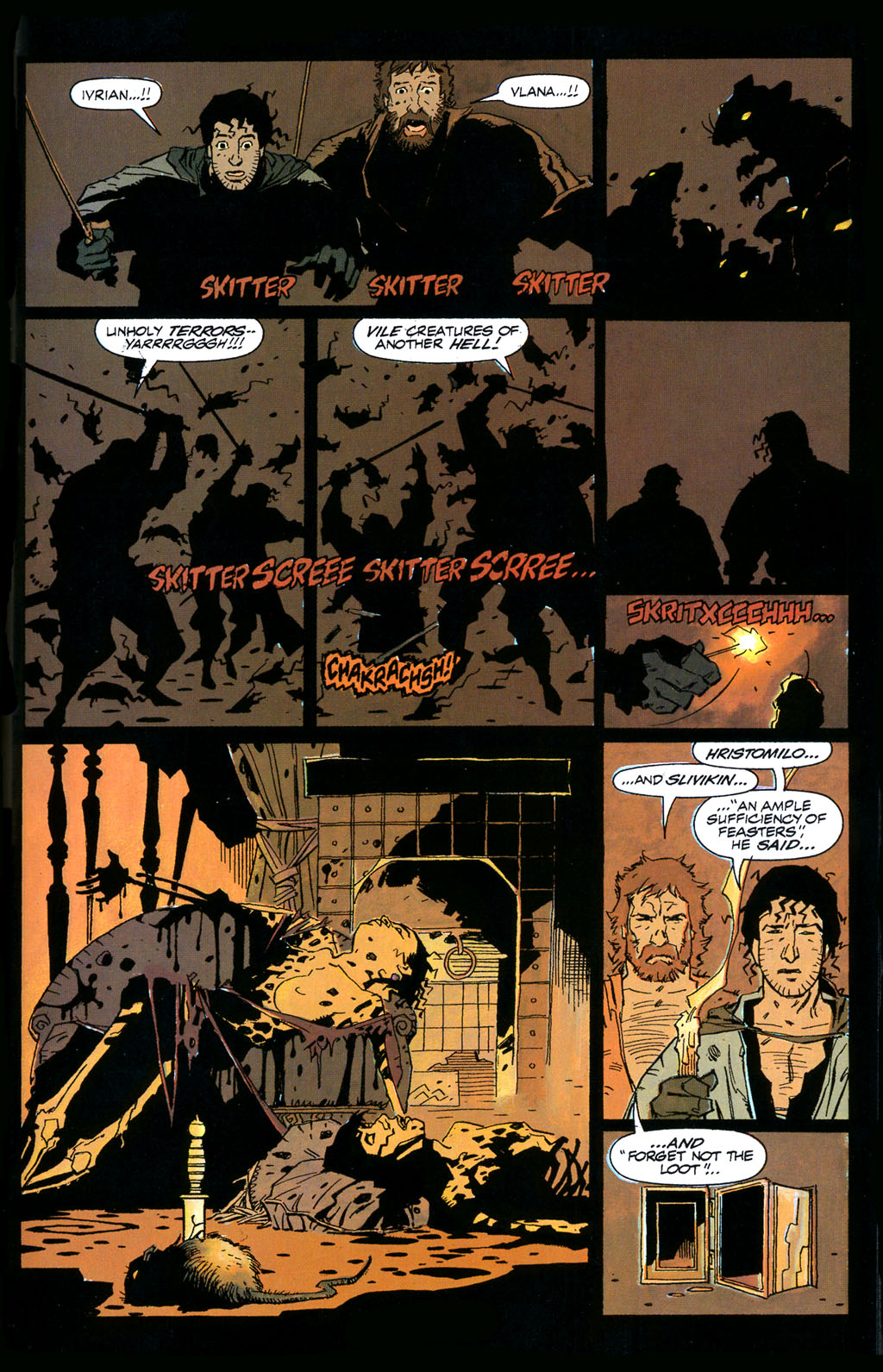Read online Fafhrd and the Gray Mouser comic -  Issue #1 - 35