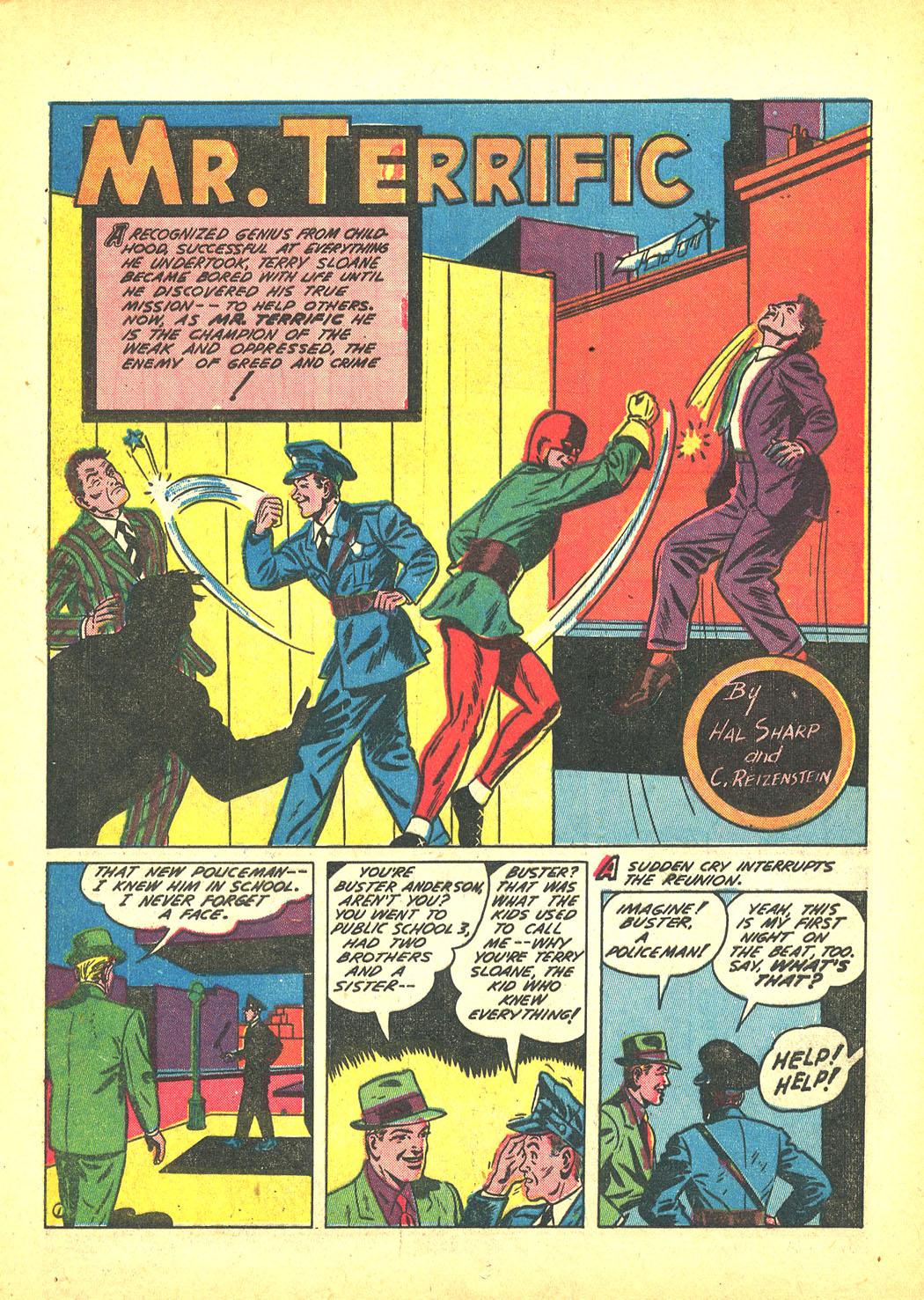 Read online Sensation (Mystery) Comics comic -  Issue #4 - 25