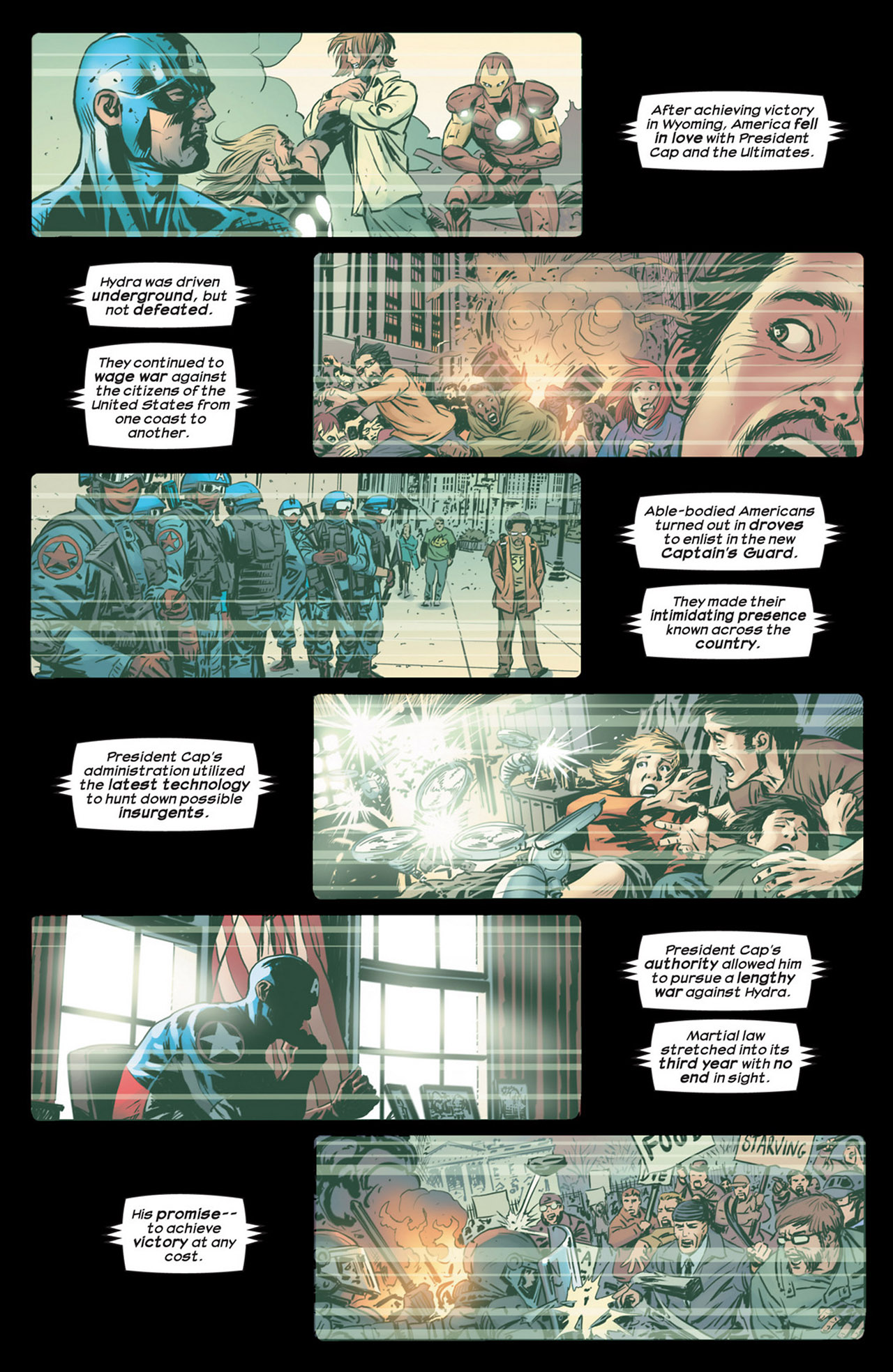 Read online Ultimate Comics Ultimates comic -  Issue #18 - 6