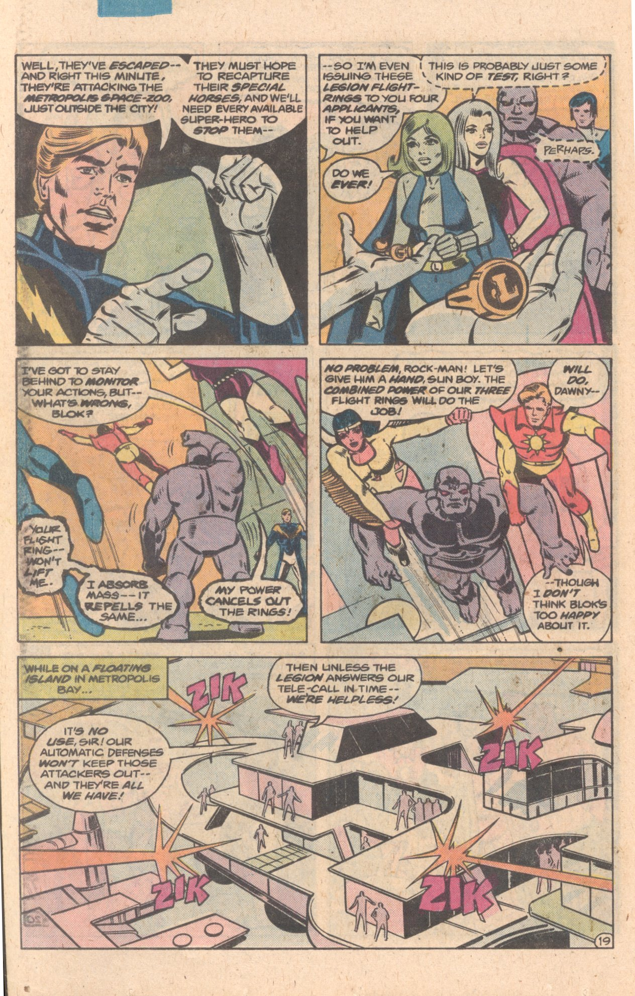 Legion of Super-Heroes (1980) 272 Page 19