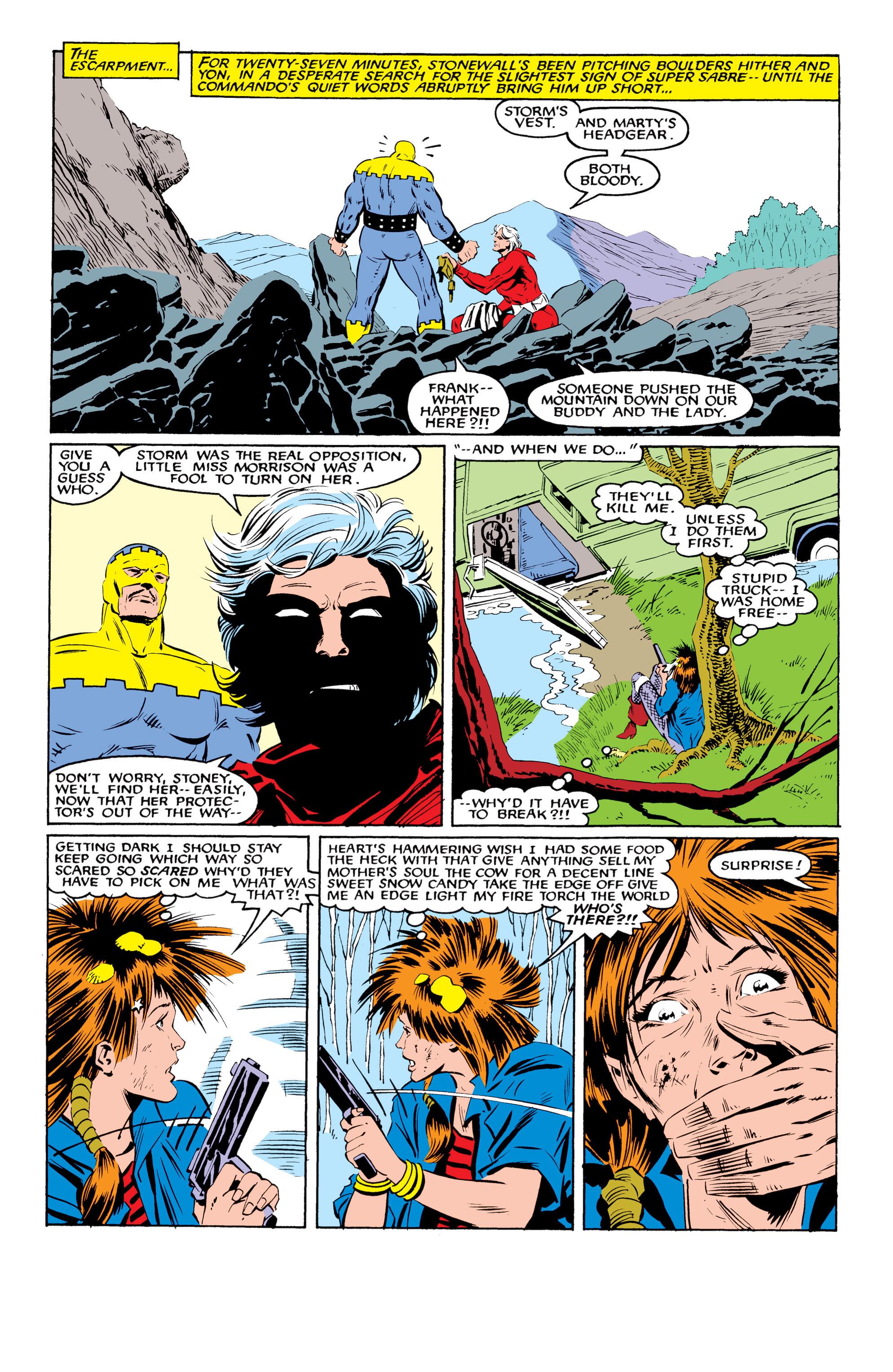 Read online Uncanny X-Men (1963) comic -  Issue #216 - 17