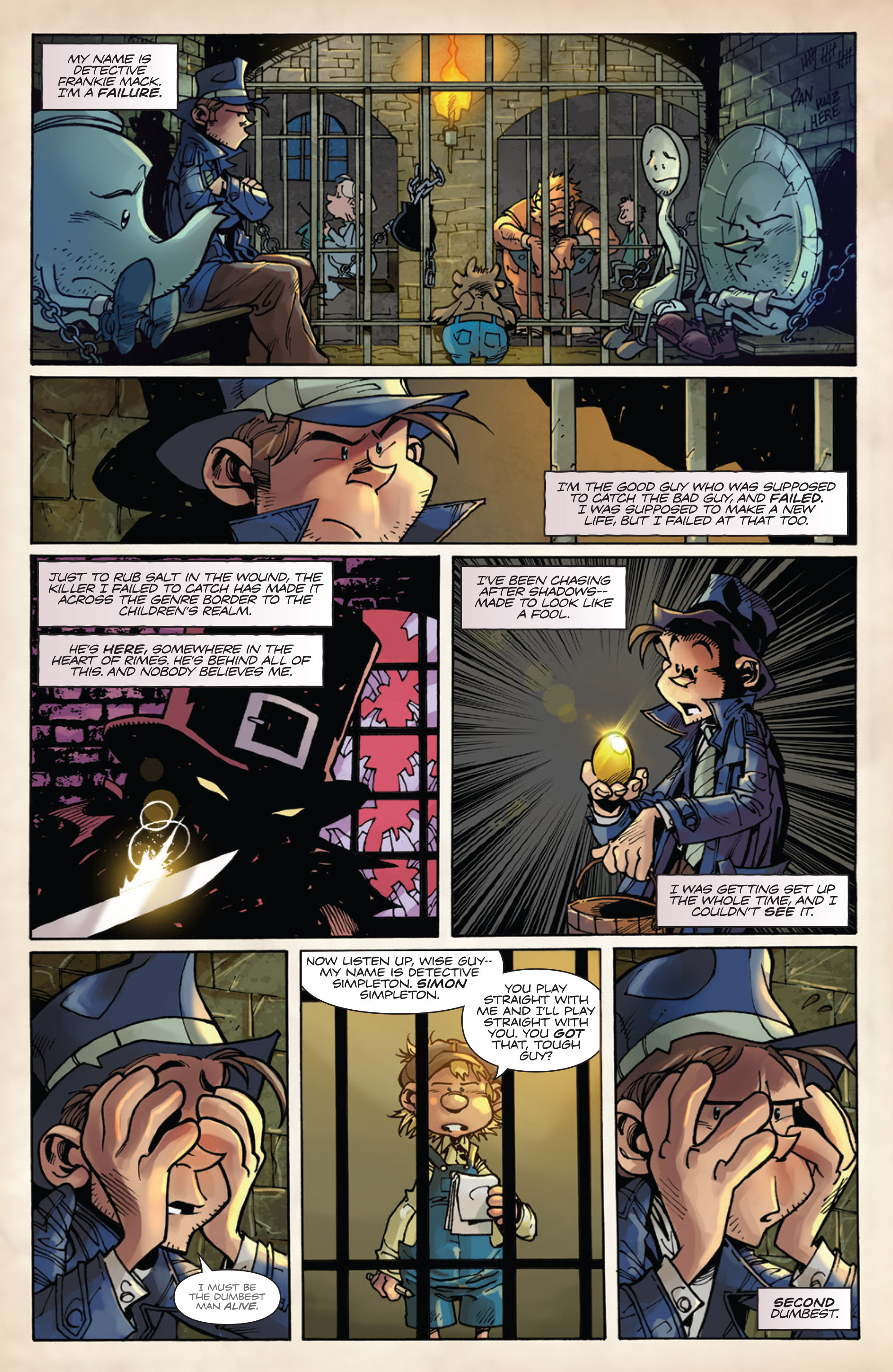 Read online Fiction Squad comic -  Issue #5 - 5