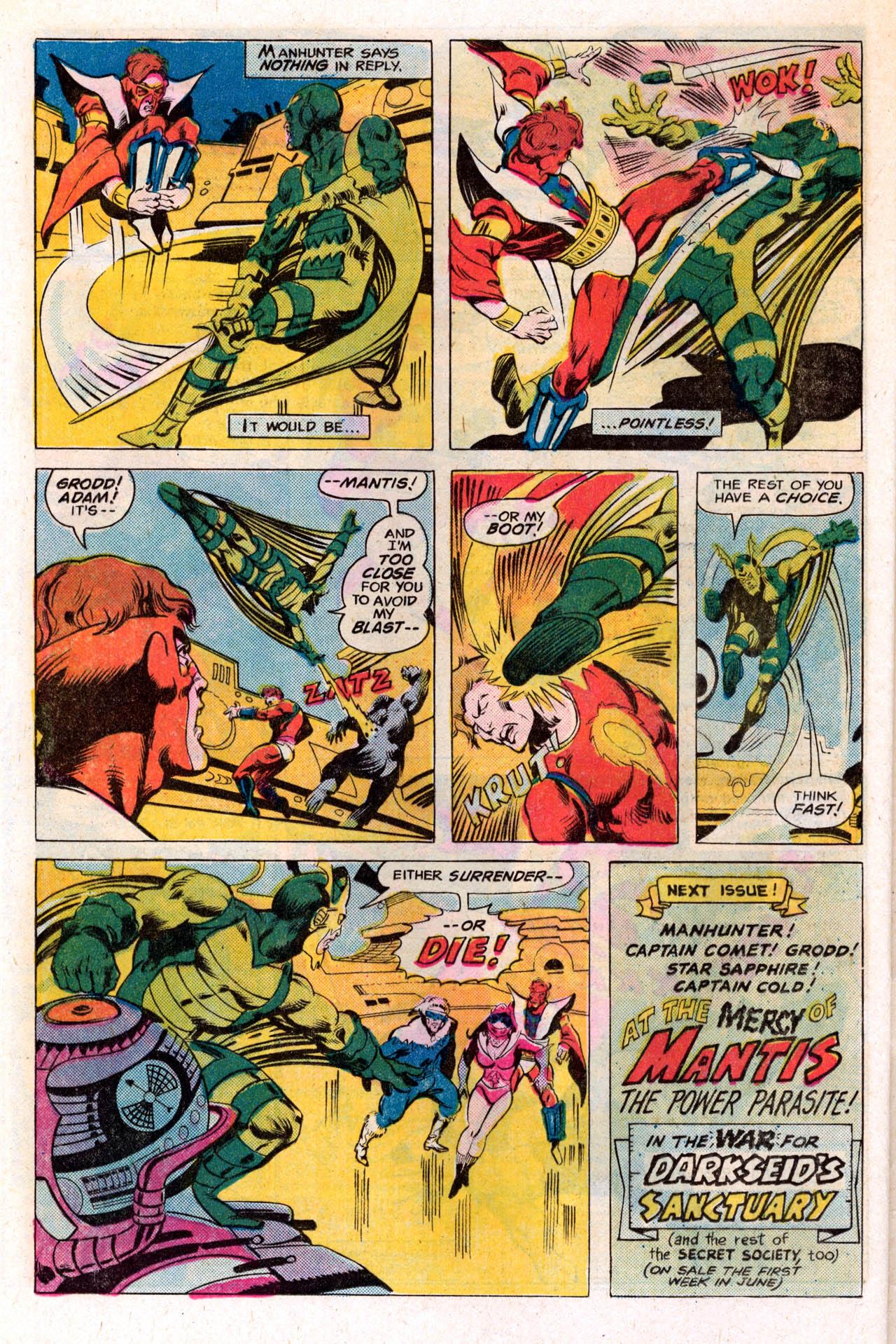 Read online Secret Society of Super-Villains comic -  Issue #2 - 32