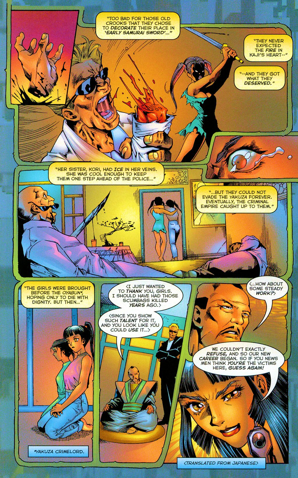 Read online Shi: The Series comic -  Issue #8 - 13