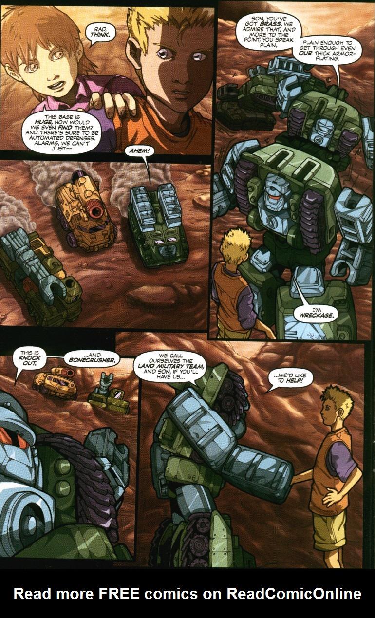 Read online Transformers Armada comic -  Issue #7 - 14