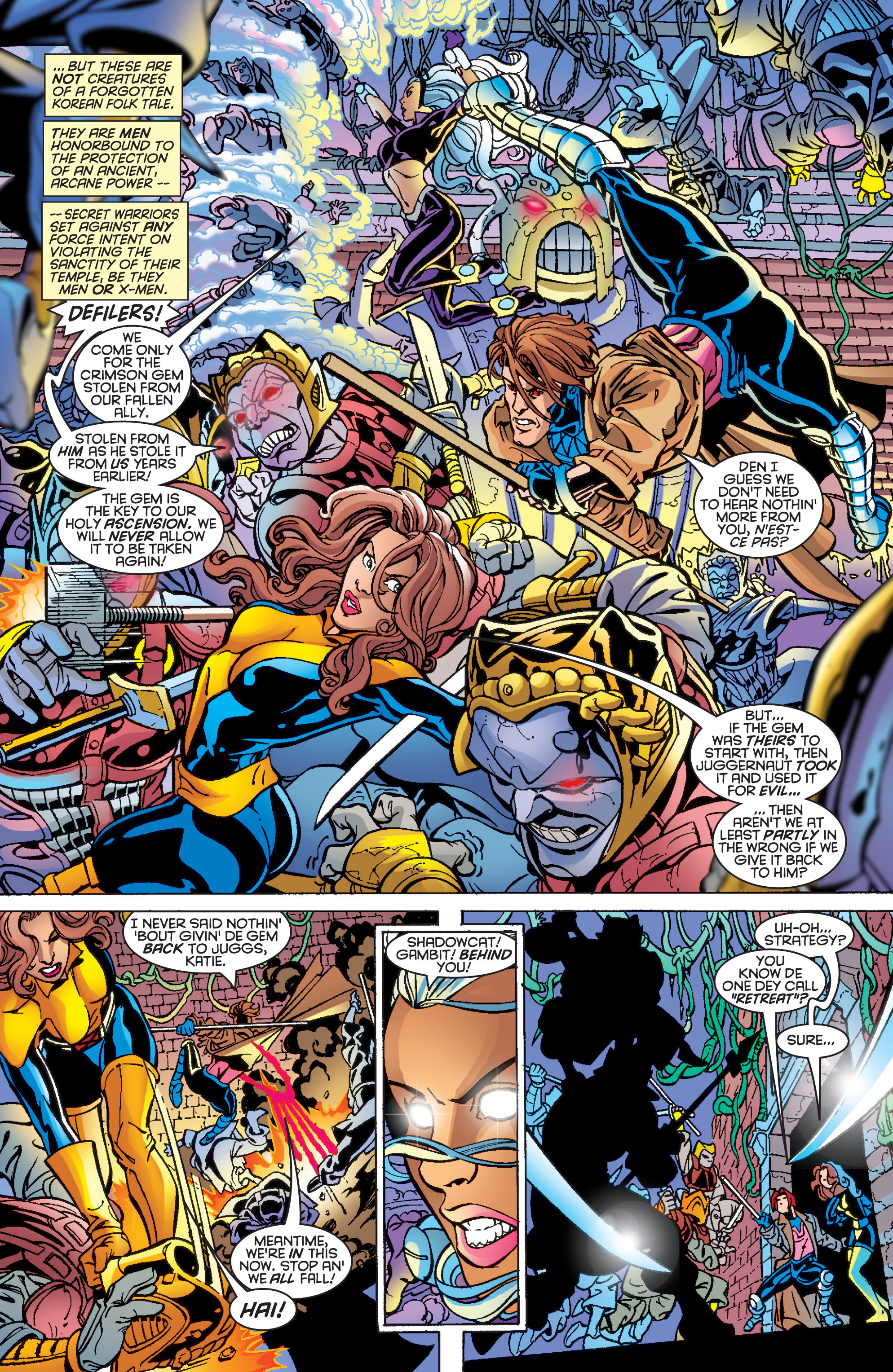 Read online Uncanny X-Men (1963) comic -  Issue #361 - 19