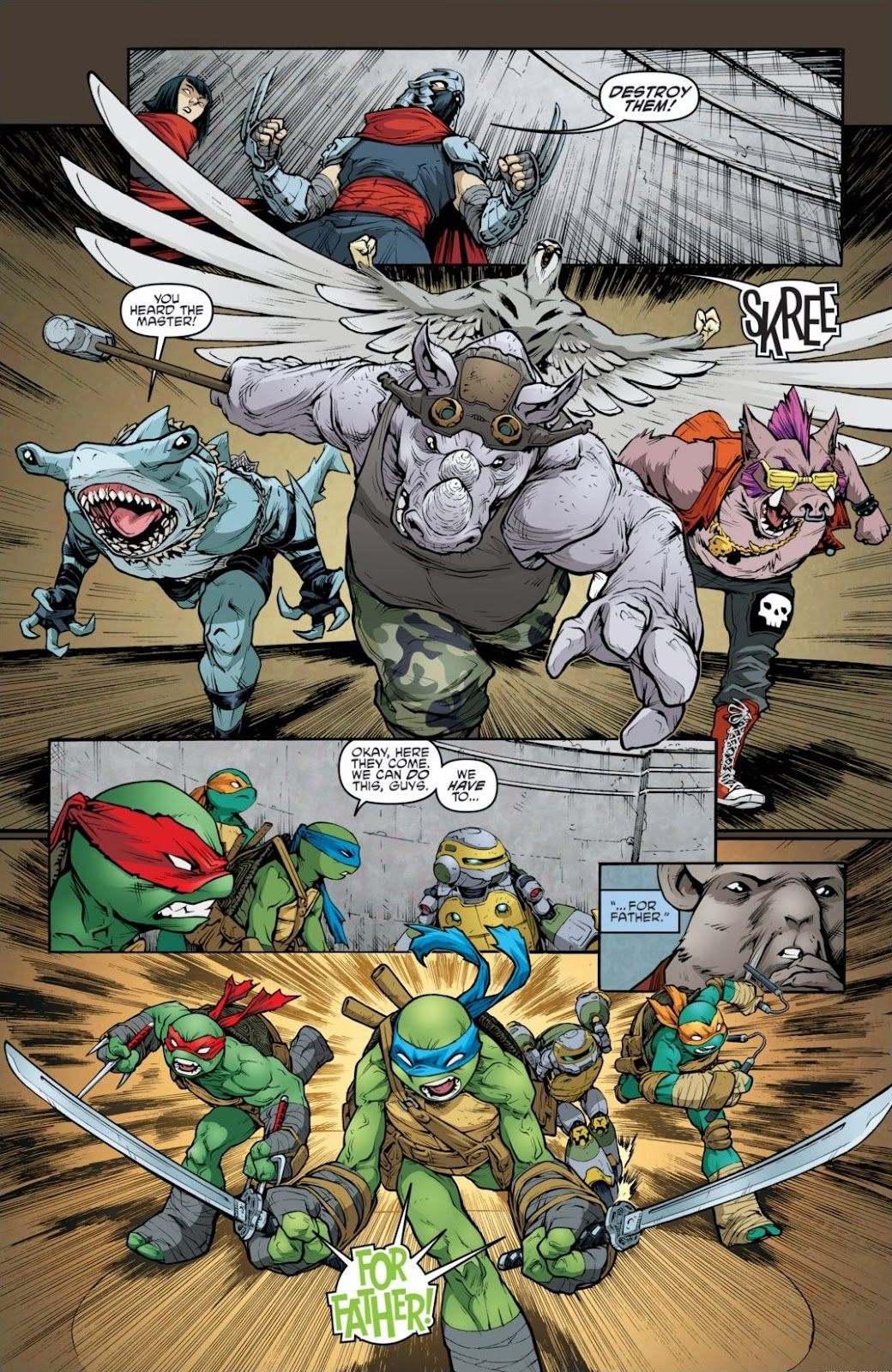 Read online Teenage Mutant Ninja Turtles: The IDW Collection comic -  Issue # TPB 6 (Part 3) - 41