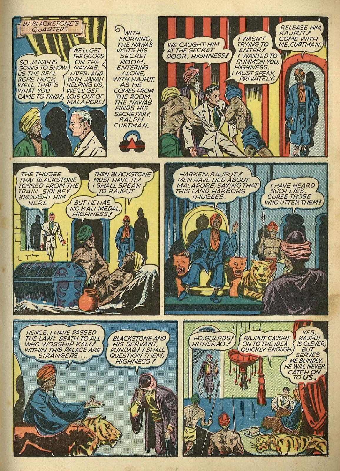 Read online Super-Magician Comics comic -  Issue #1 - 21