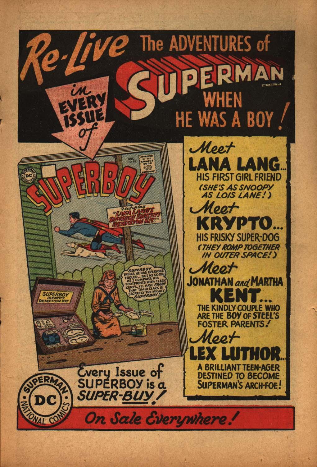 Read online Adventure Comics (1938) comic -  Issue #291 - 17