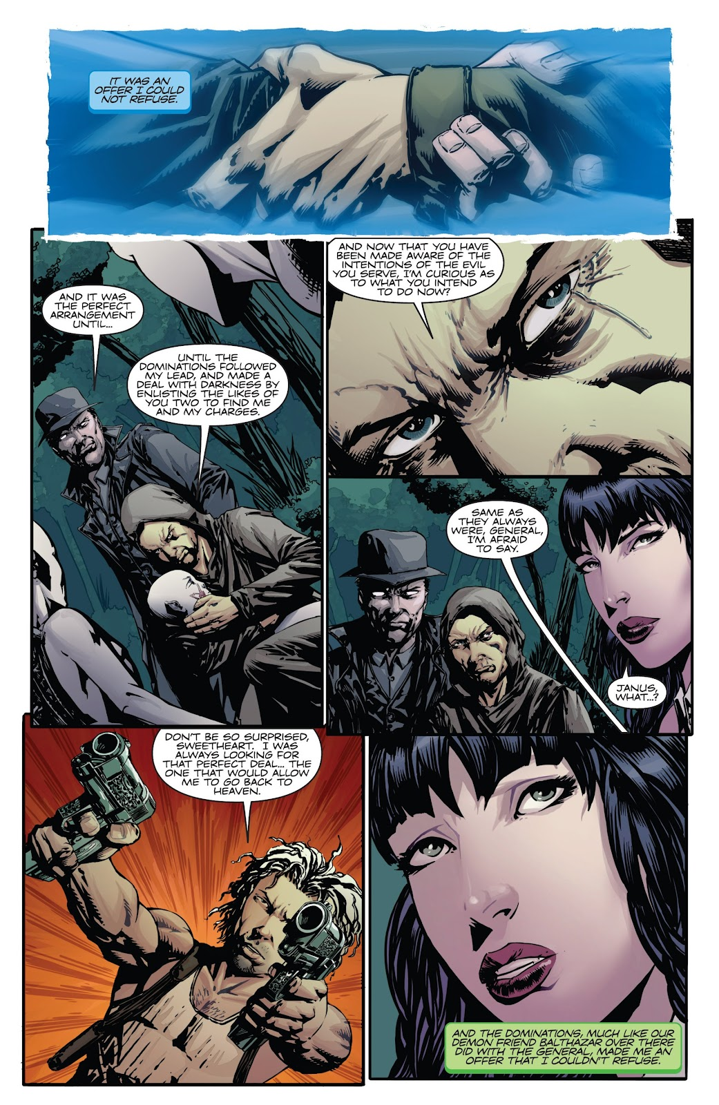 Read online Vampirella Strikes comic -  Issue #6 - 17
