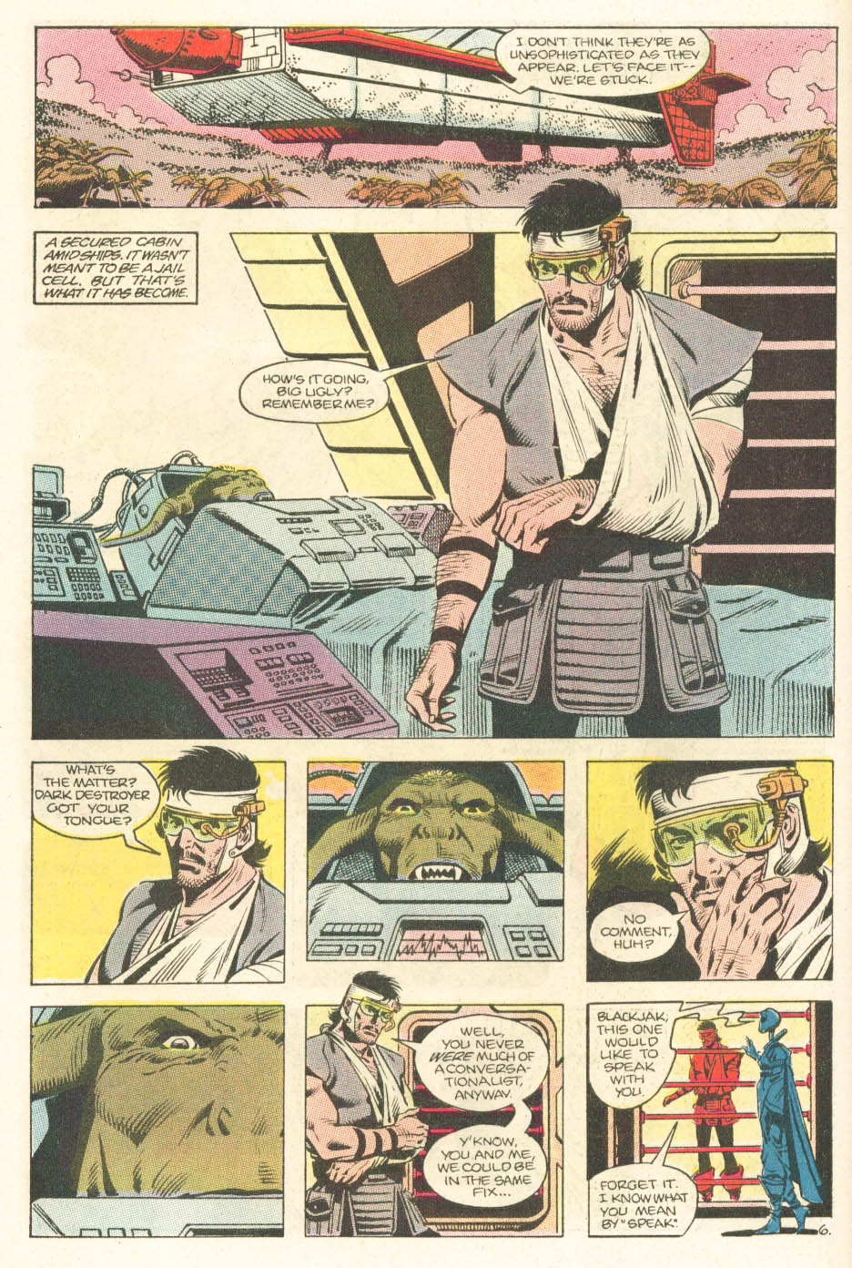 Read online Atari Force (1984) comic -  Issue #15 - 8