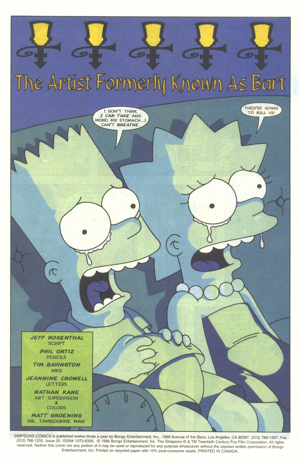 Read online Simpsons Comics comic -  Issue #20 - 2
